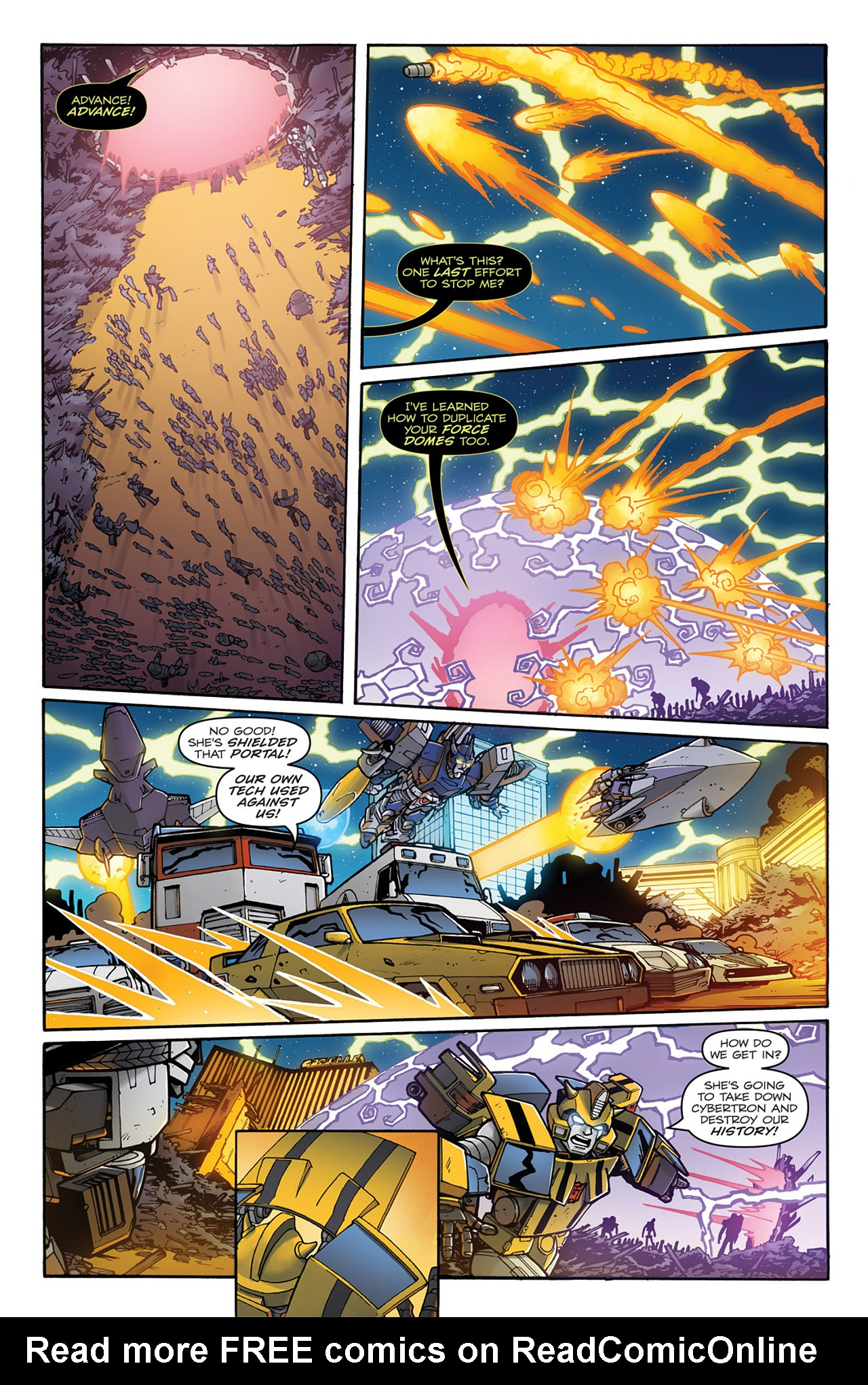 Read online Transformers: Infestation comic -  Issue #2 - 19