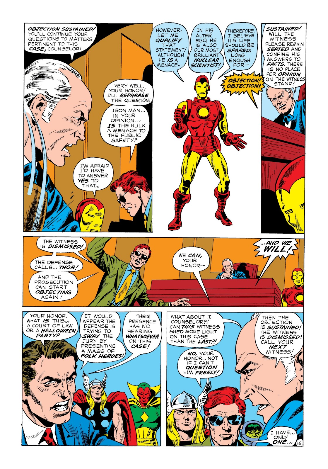 Read online Marvel Masterworks: The Incredible Hulk comic -  Issue # TPB 8 (Part 3) - 12