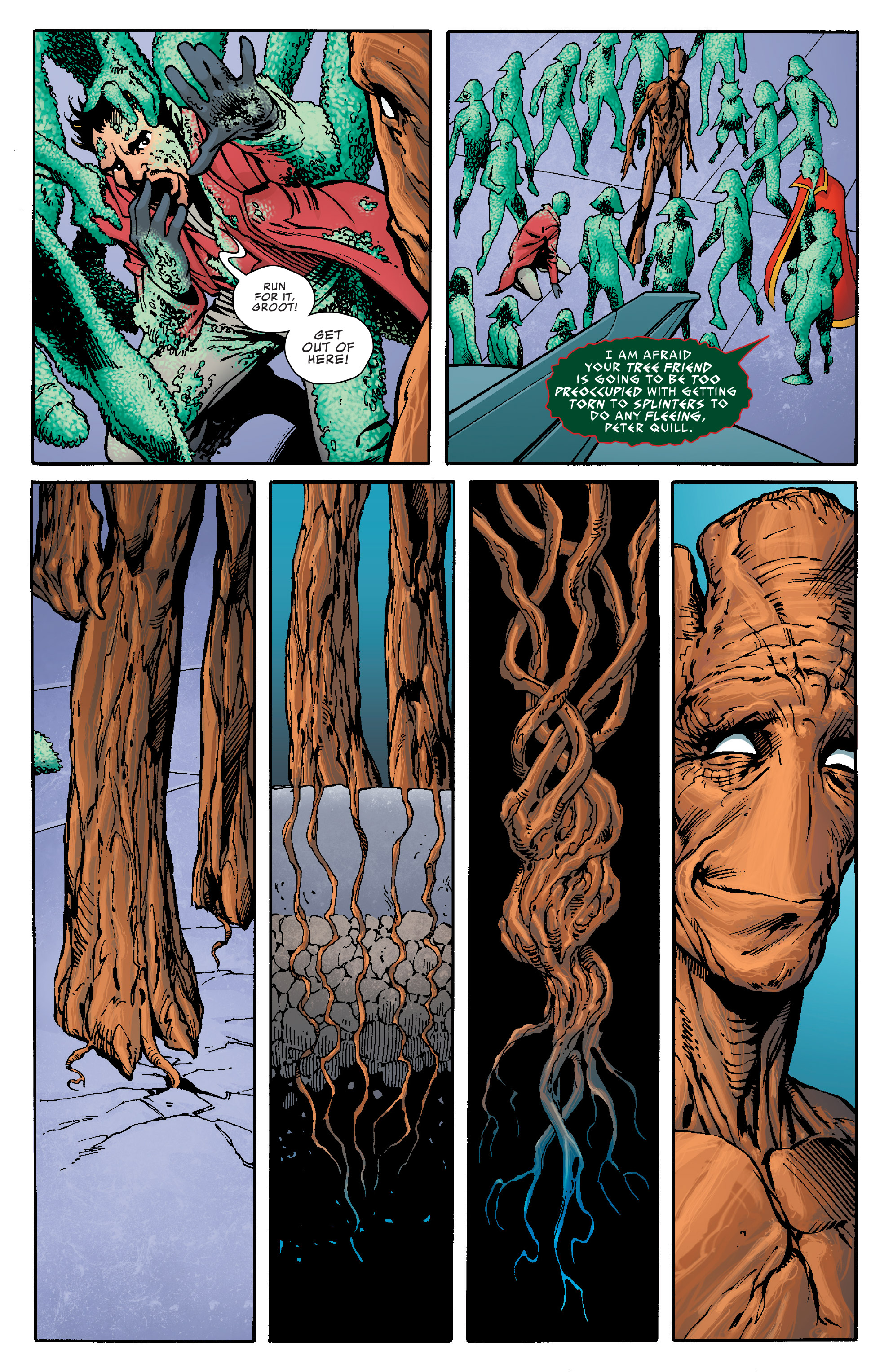 Read online Guardians of the Galaxy: Mother Entropy comic -  Issue #5 - 8