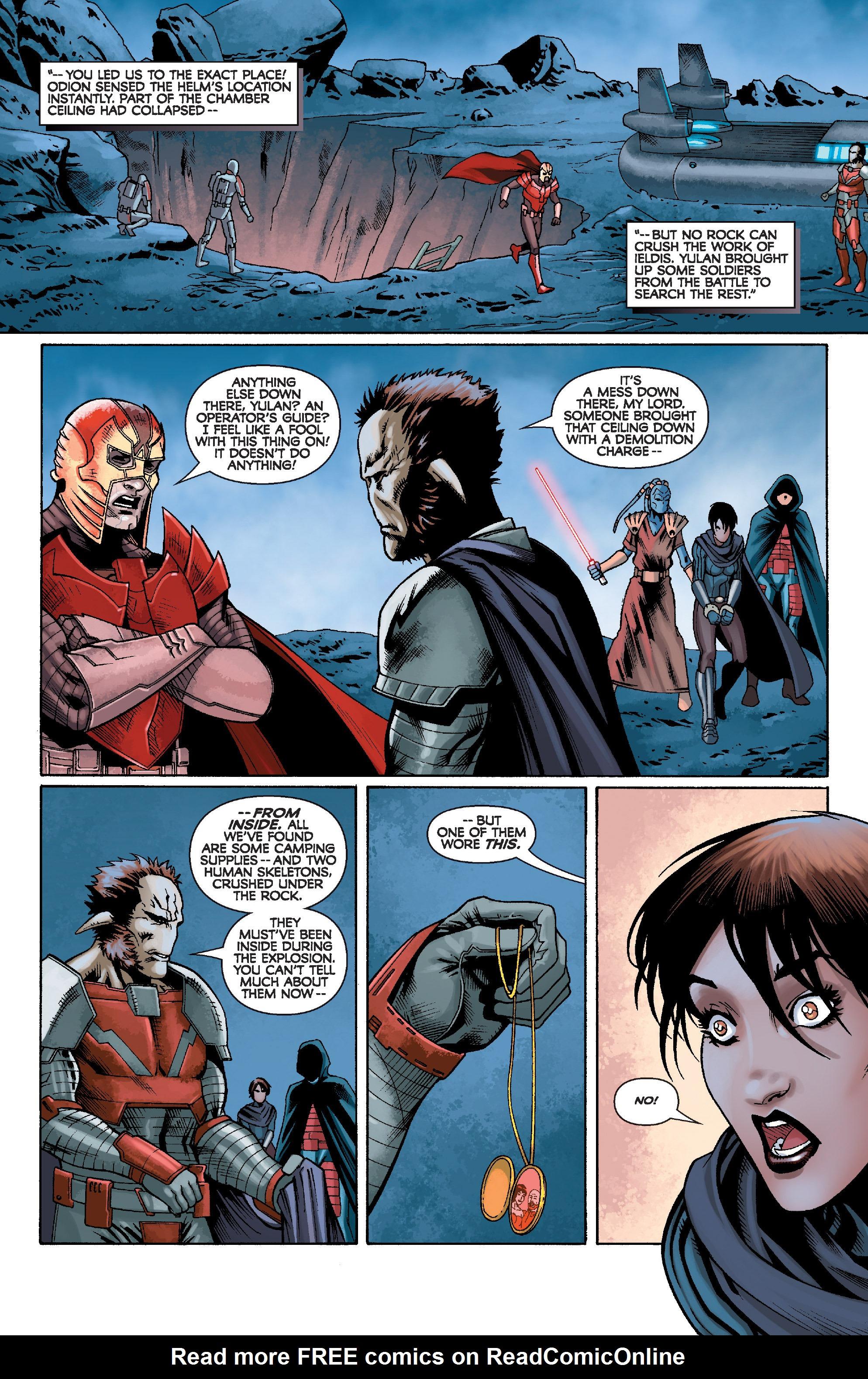 Read online Star Wars: Knight Errant - Escape comic -  Issue #4 - 7