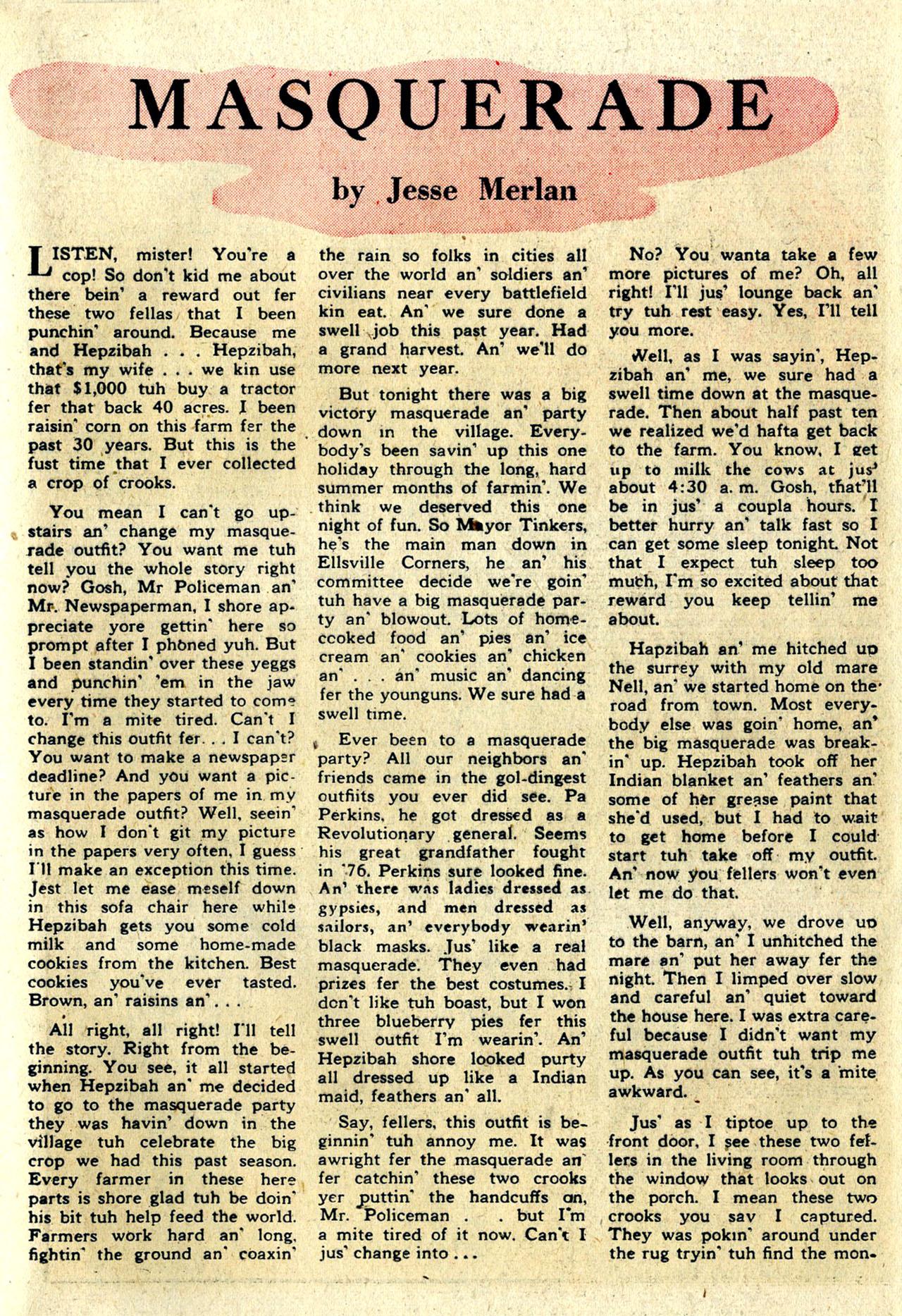 Read online Detective Comics (1937) comic -  Issue #100 - 36