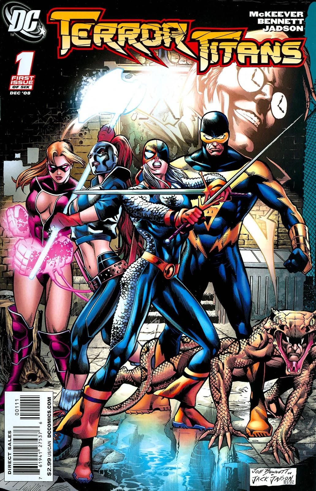 Terror Titans issue 1 - Page 1