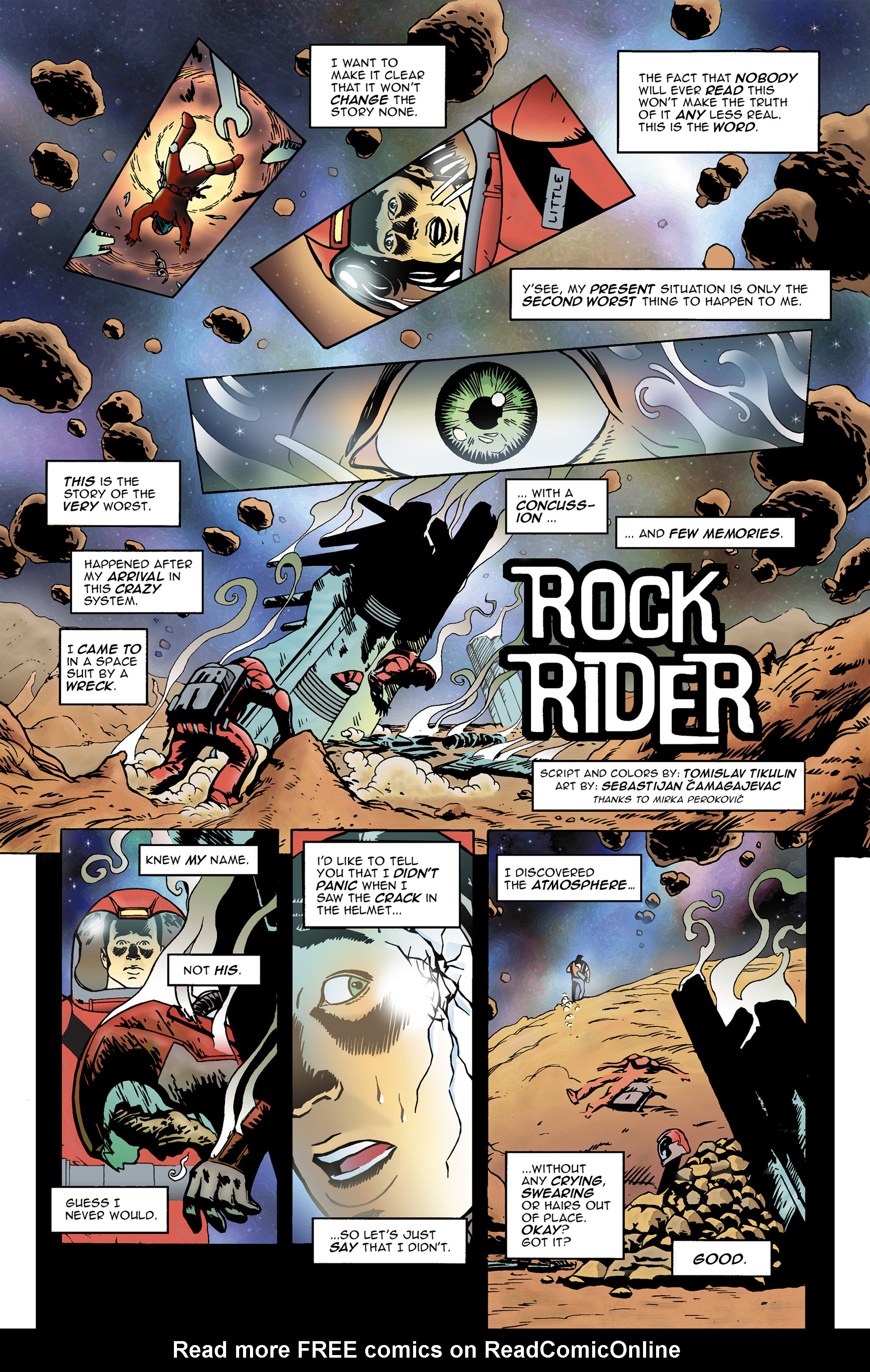 Read online 100% Biodegradable comic -  Issue #14 - 7