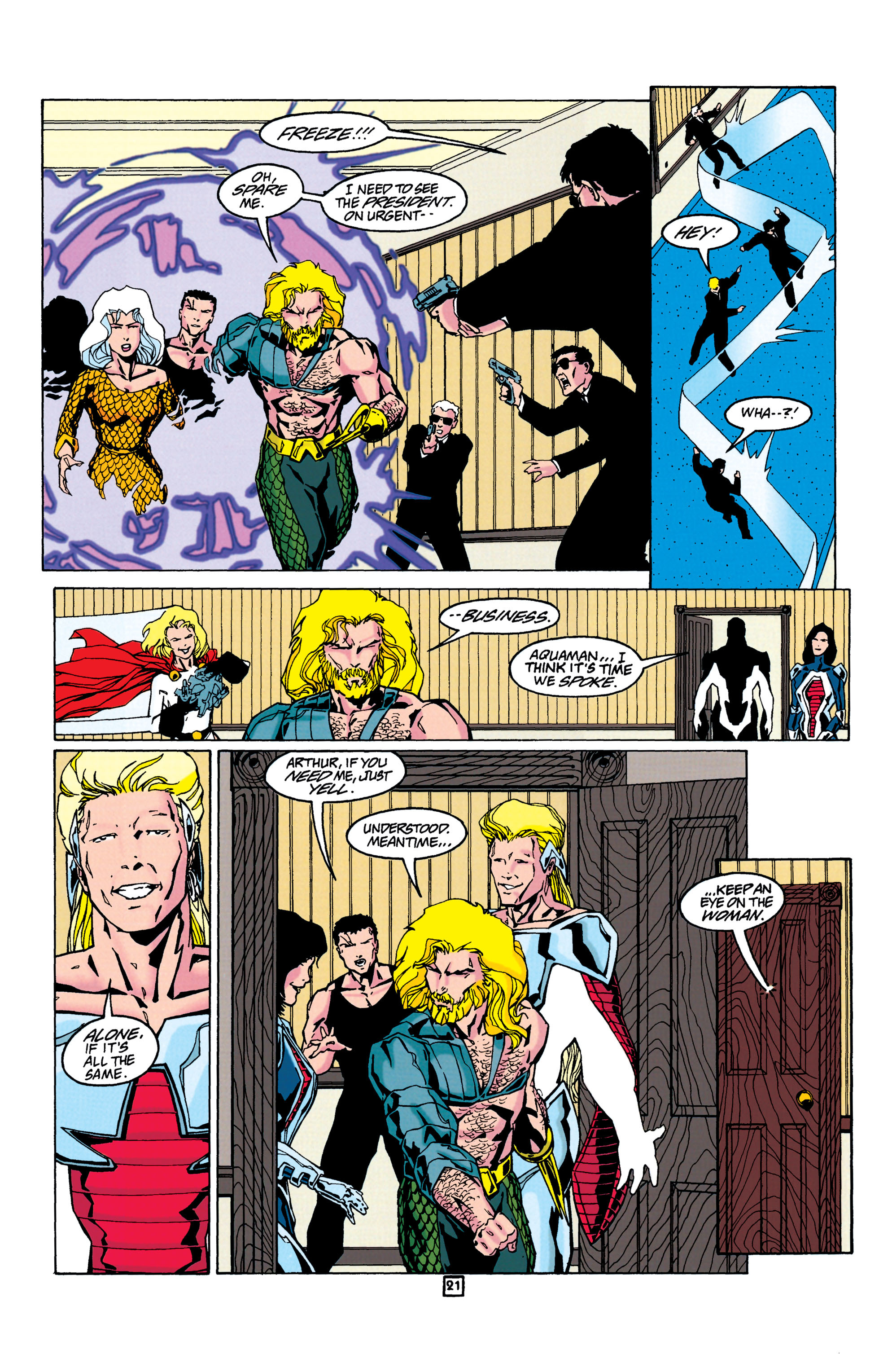 Read online Aquaman (1994) comic -  Issue #24 - 22