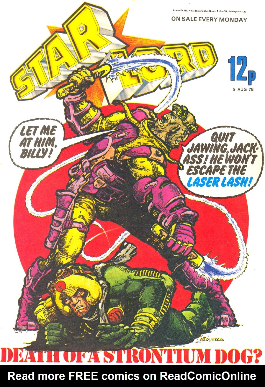 Starlord (1978) issue 13 - Page 1