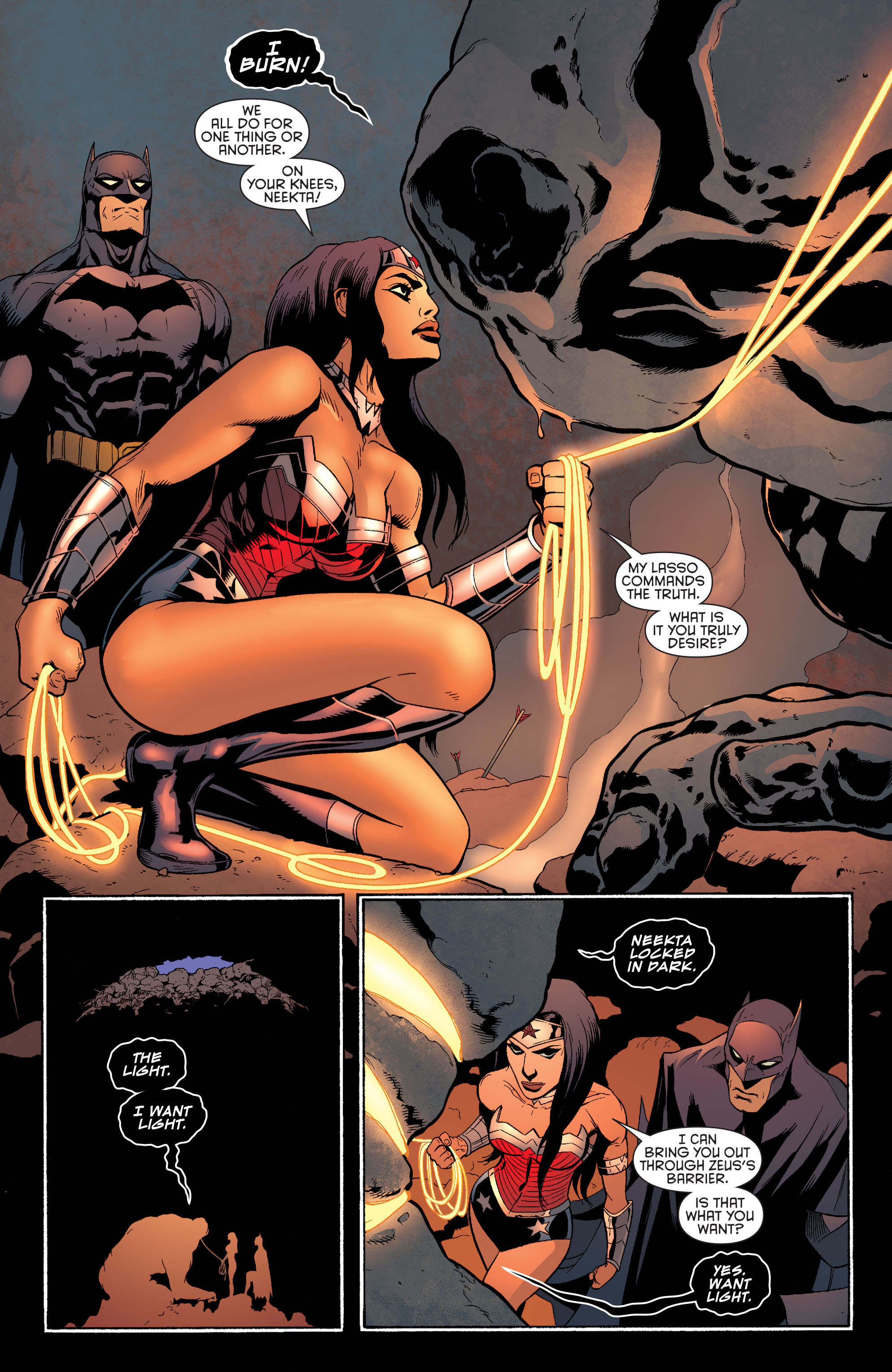 Read online Batman and Robin (2011) comic -  Issue #30 - Batman and Wonder Woman - 19