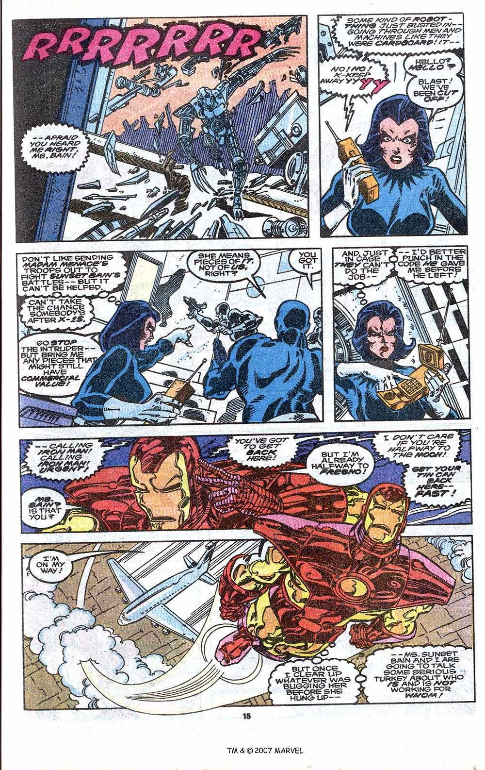 Iron Man Annual issue 11 - Page 17