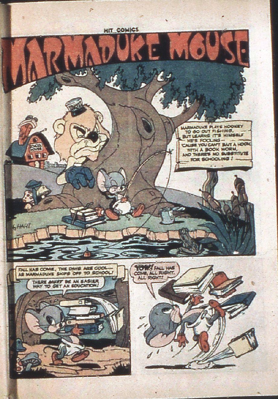 Read online Hit Comics comic -  Issue #37 - 53