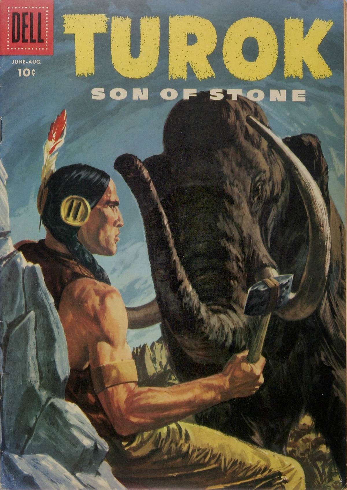 Read online Turok, Son of Stone comic -  Issue #4 - 1