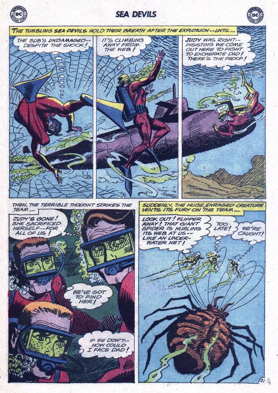 Read online Sea Devils comic -  Issue #15 - 28