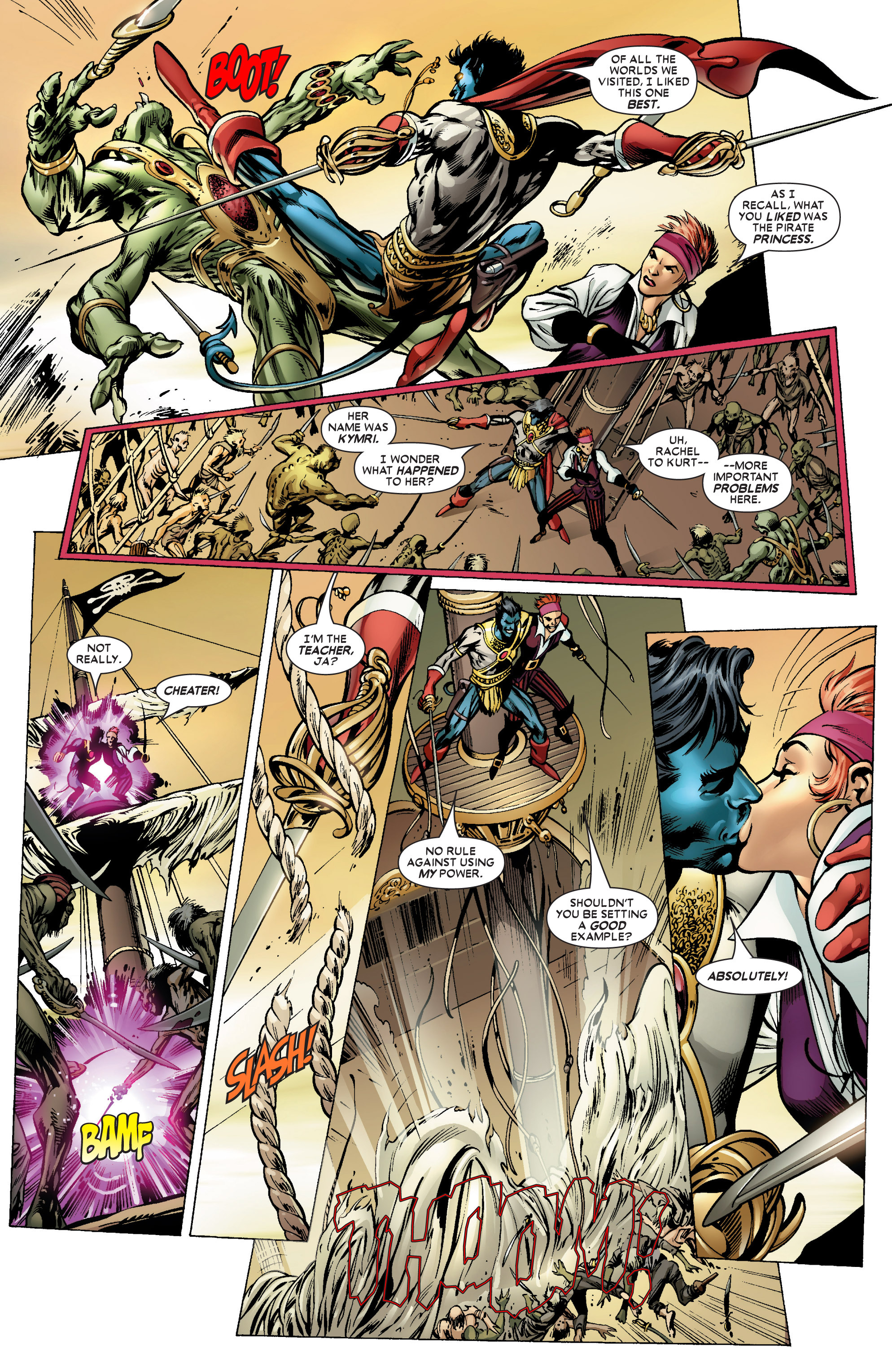 Read online Uncanny X-Men (1963) comic -  Issue #450 - 5