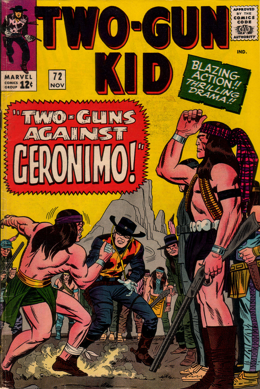 Read online Two-Gun Kid comic -  Issue #72 - 1
