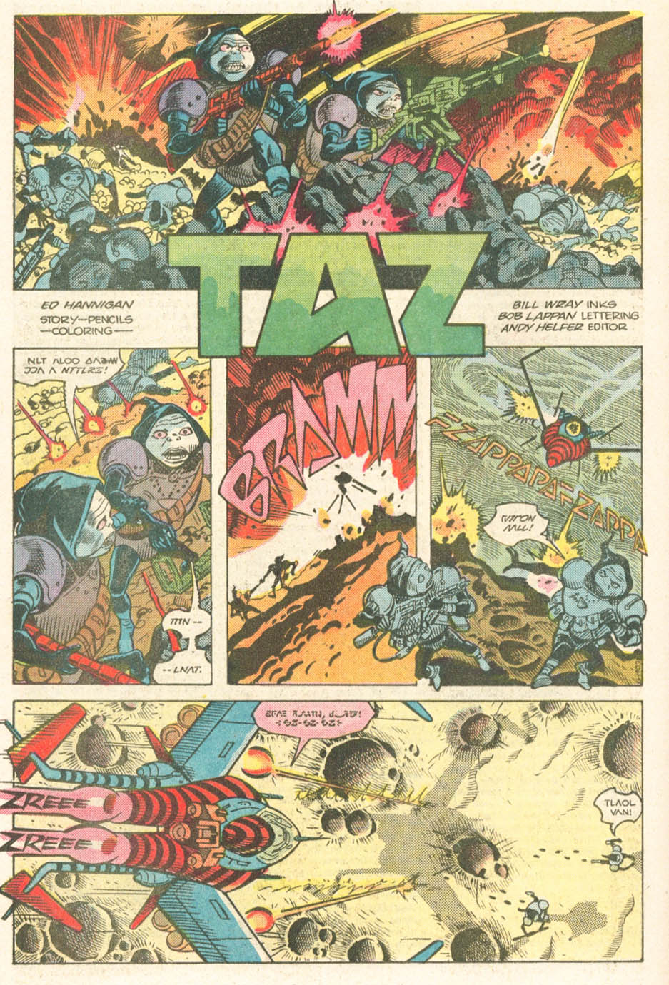 Read online Atari Force (1984) comic -  Issue #19 - 21
