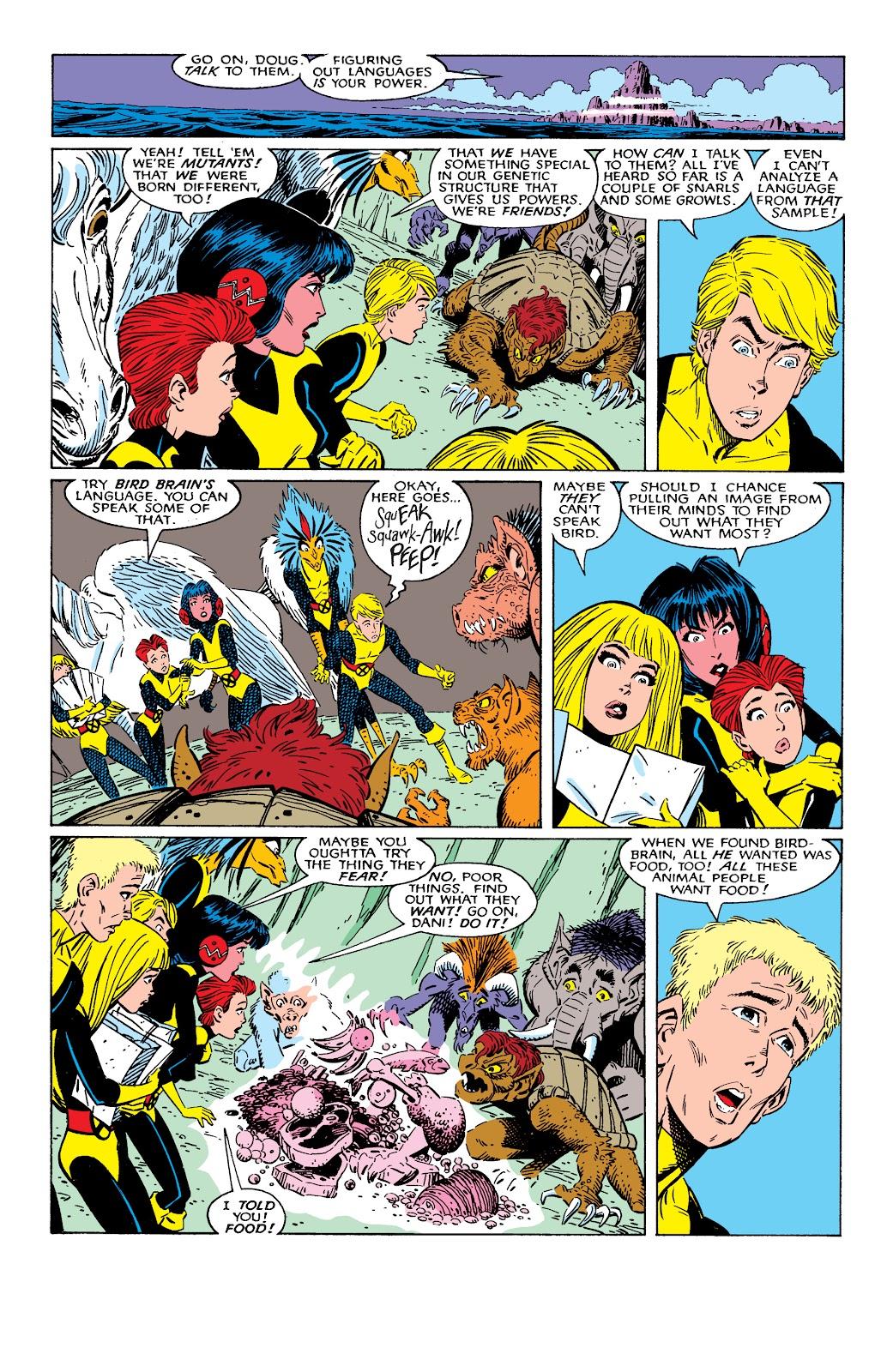 Read online X-Men Milestones: Fall of the Mutants comic -  Issue # TPB (Part 1) - 98