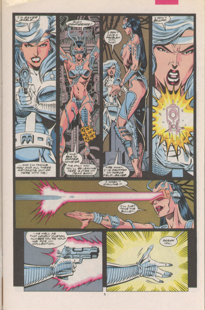 Read online Silver Sable and the Wild Pack comic -  Issue #7 - 6
