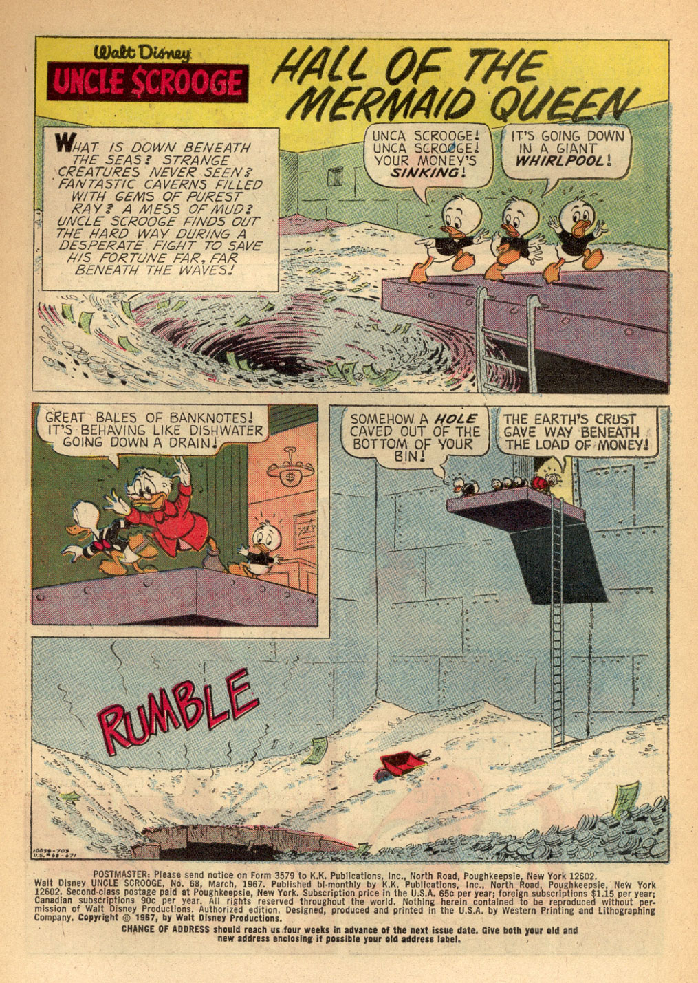 Read online Uncle Scrooge (1953) comic -  Issue #68 - 3