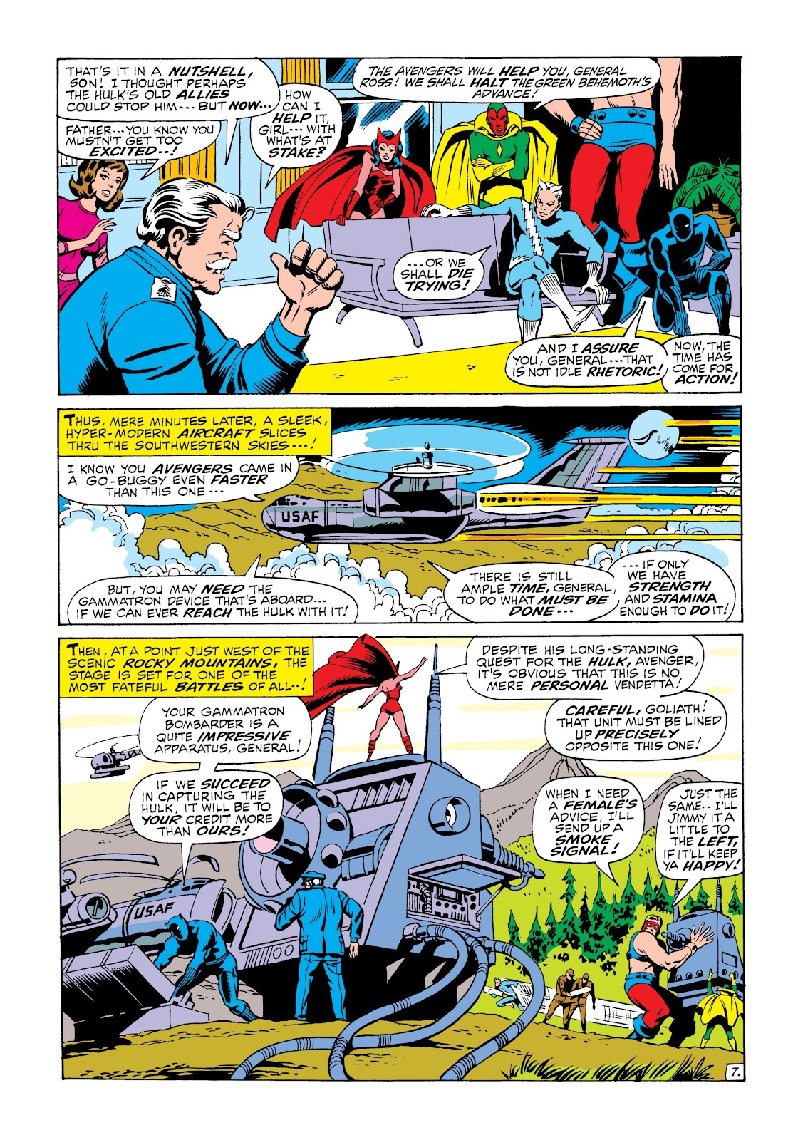 Read online Marvel Masterworks: The Incredible Hulk comic -  Issue # TPB 6 (Part 2) - 41