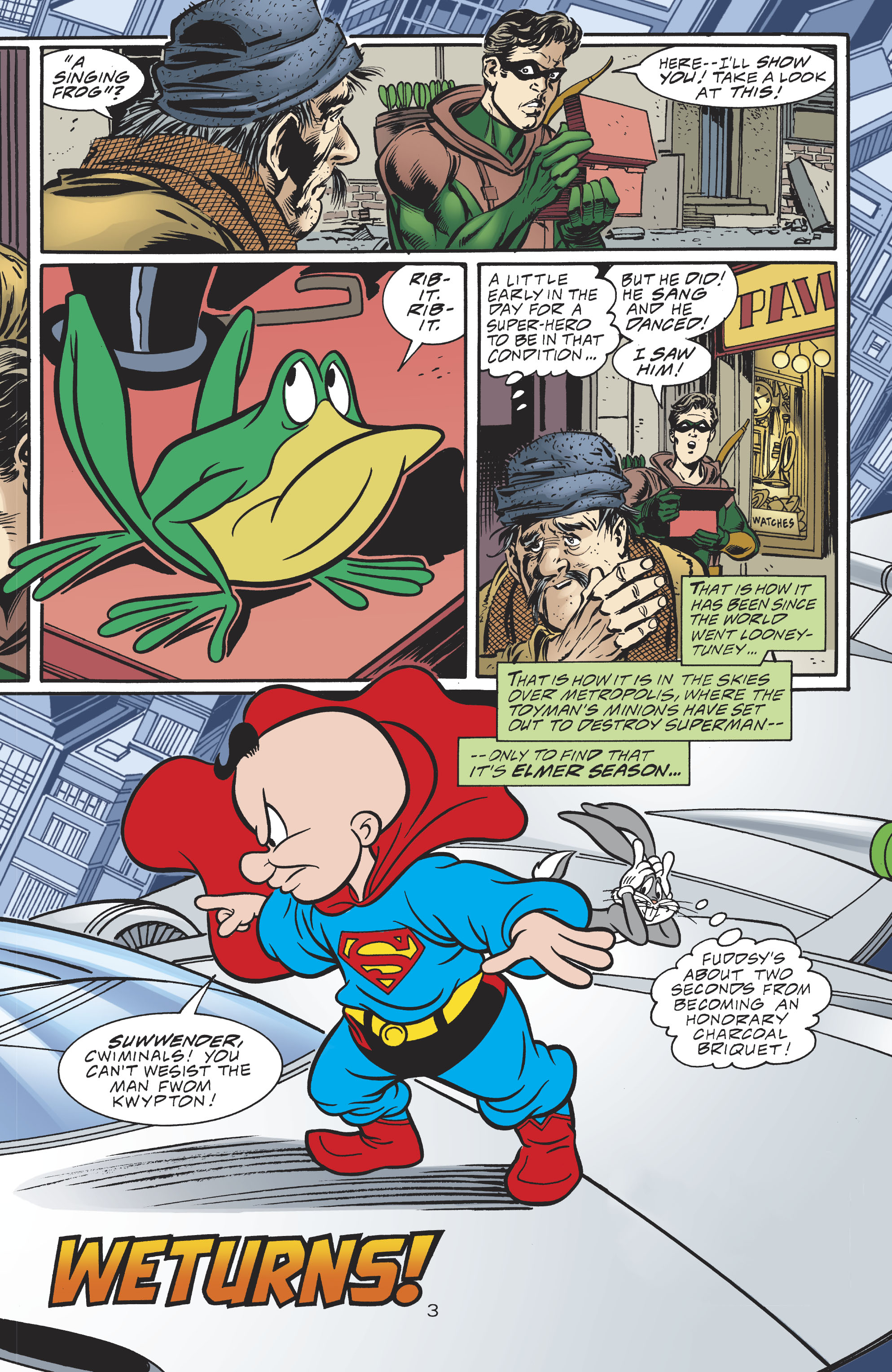 Read online DC/Looney Tunes 100-Page Super Spectacular comic -  Issue # Full - 52