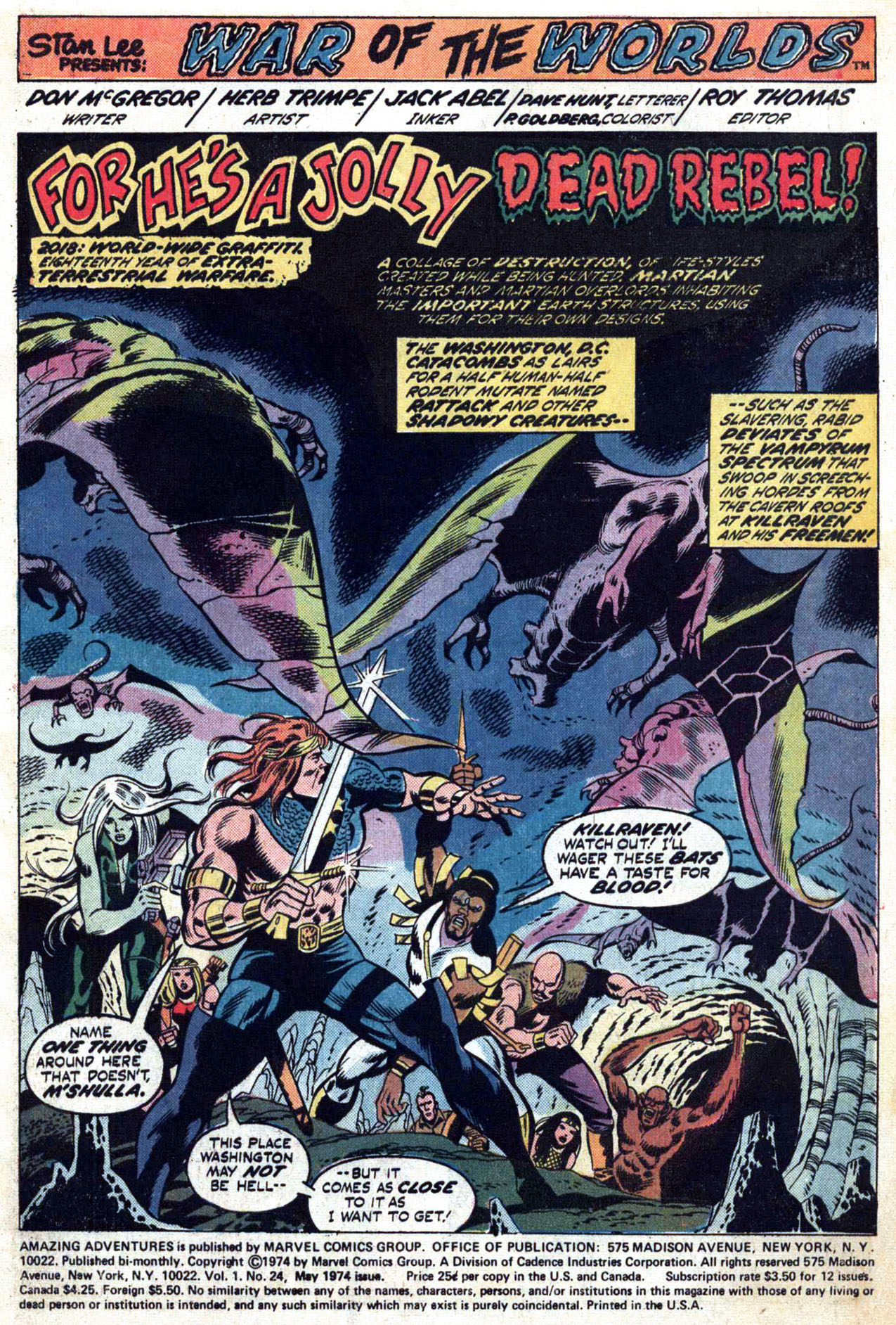 Read online Amazing Adventures (1970) comic -  Issue #24 - 3