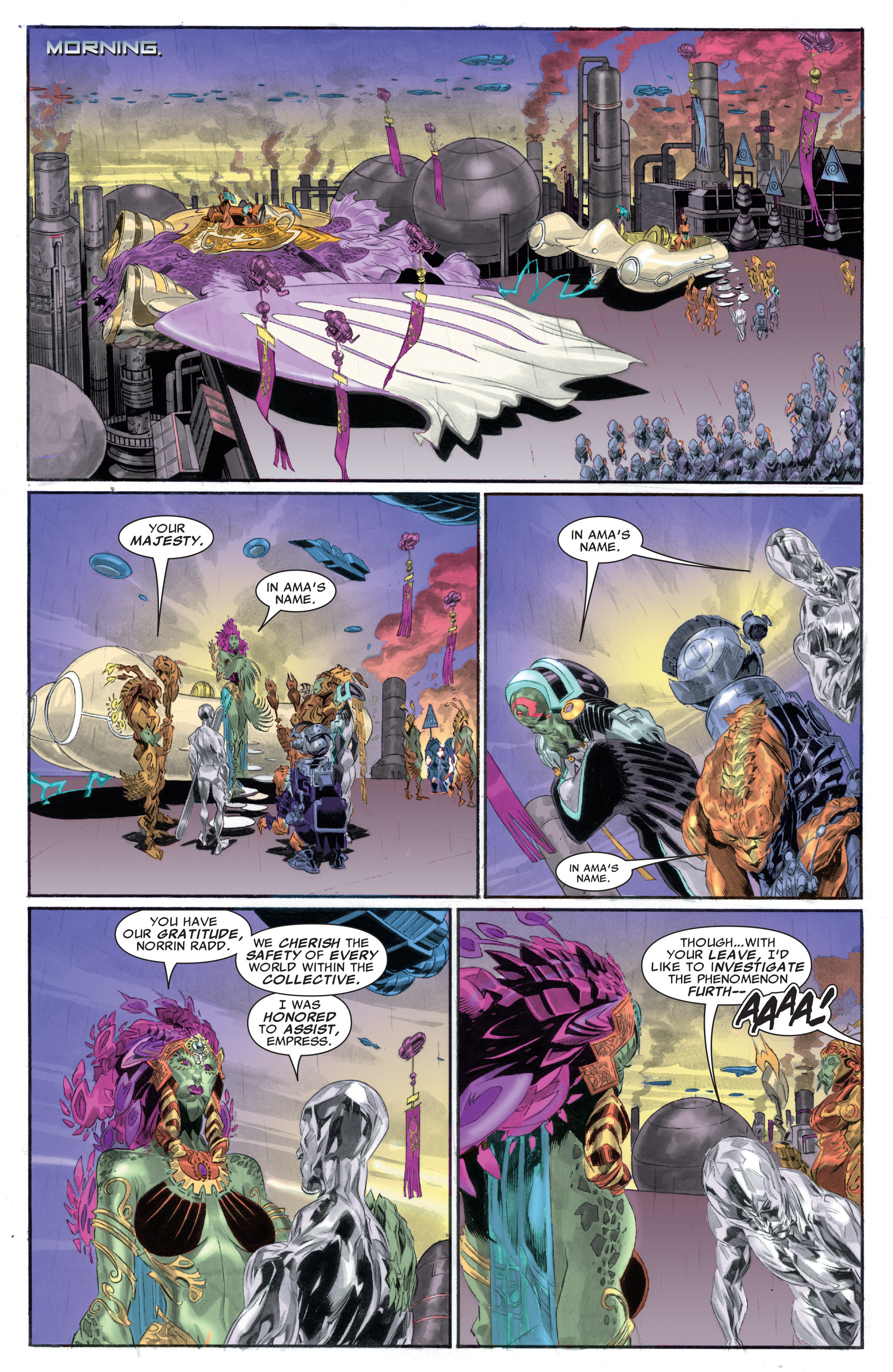 Read online Silver Surfer: In Thy Name comic -  Issue #2 - 8