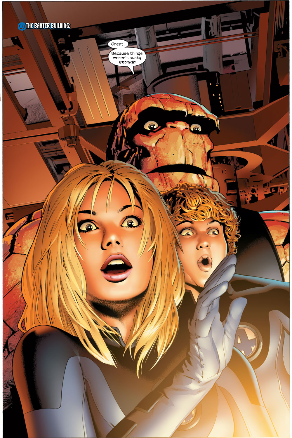 Read online Ultimate Fantastic Four (2004) comic -  Issue #23 - 2