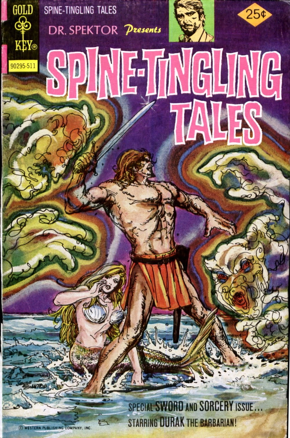Read online Dr. Spektor Presents Spine-Tingling Tales comic -  Issue #3 - 1