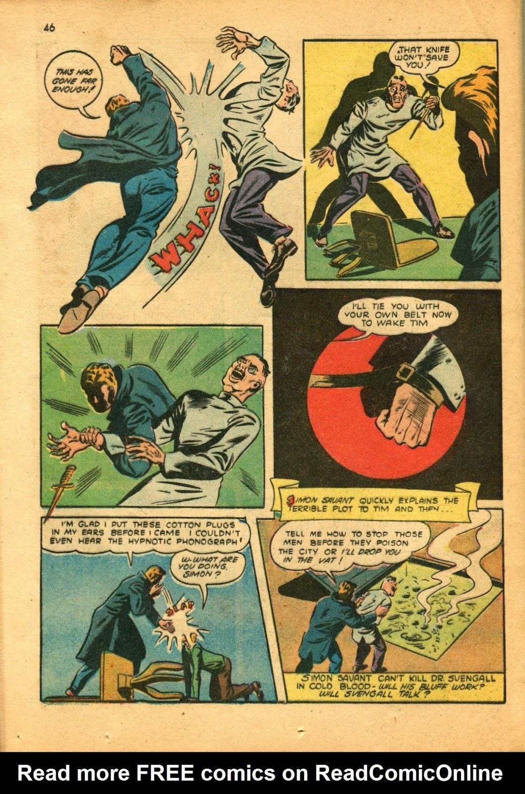 Read online Super-Magician Comics comic -  Issue #11 - 46