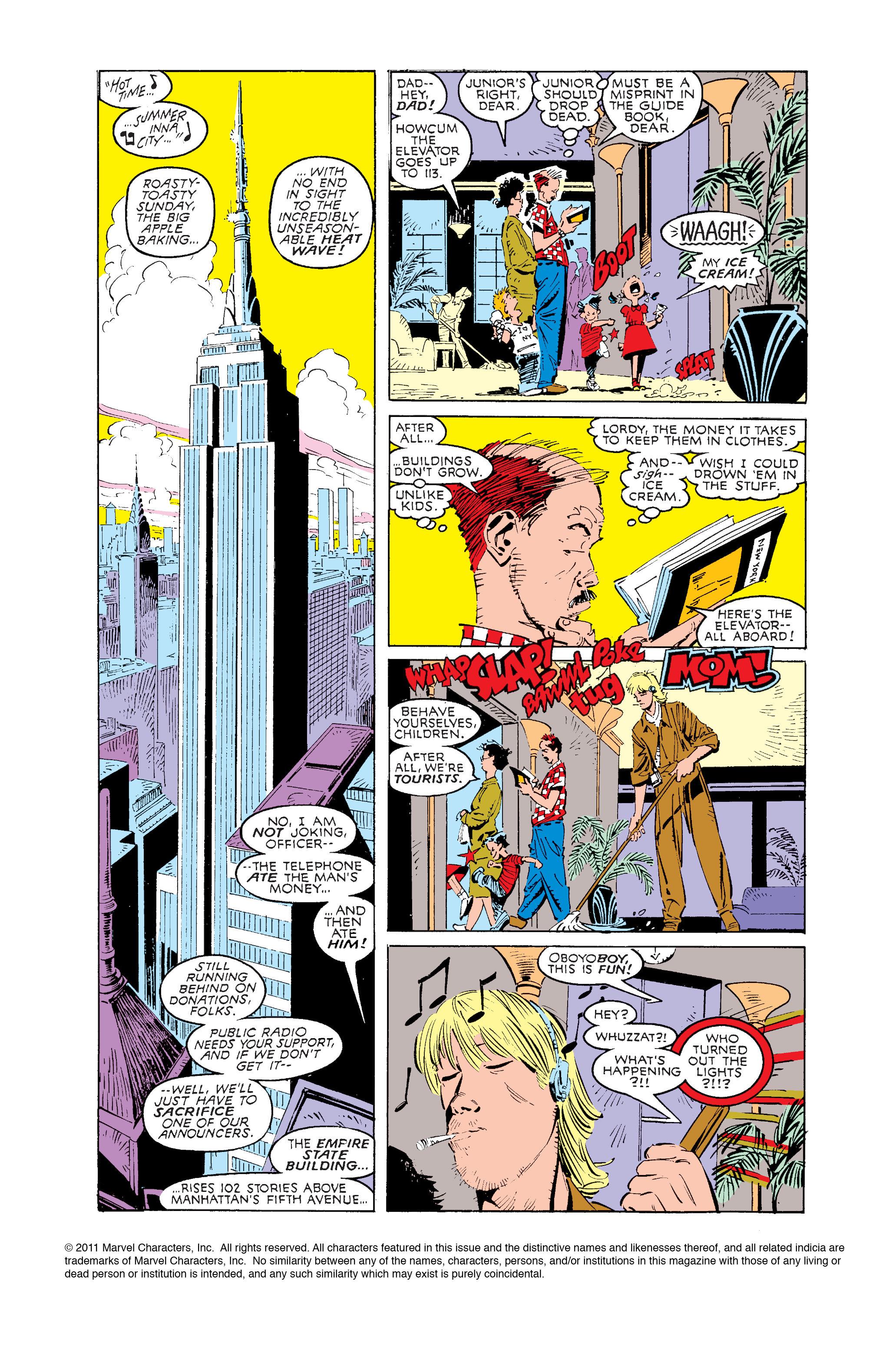Read online Uncanny X-Men (1963) comic -  Issue #239 - 2