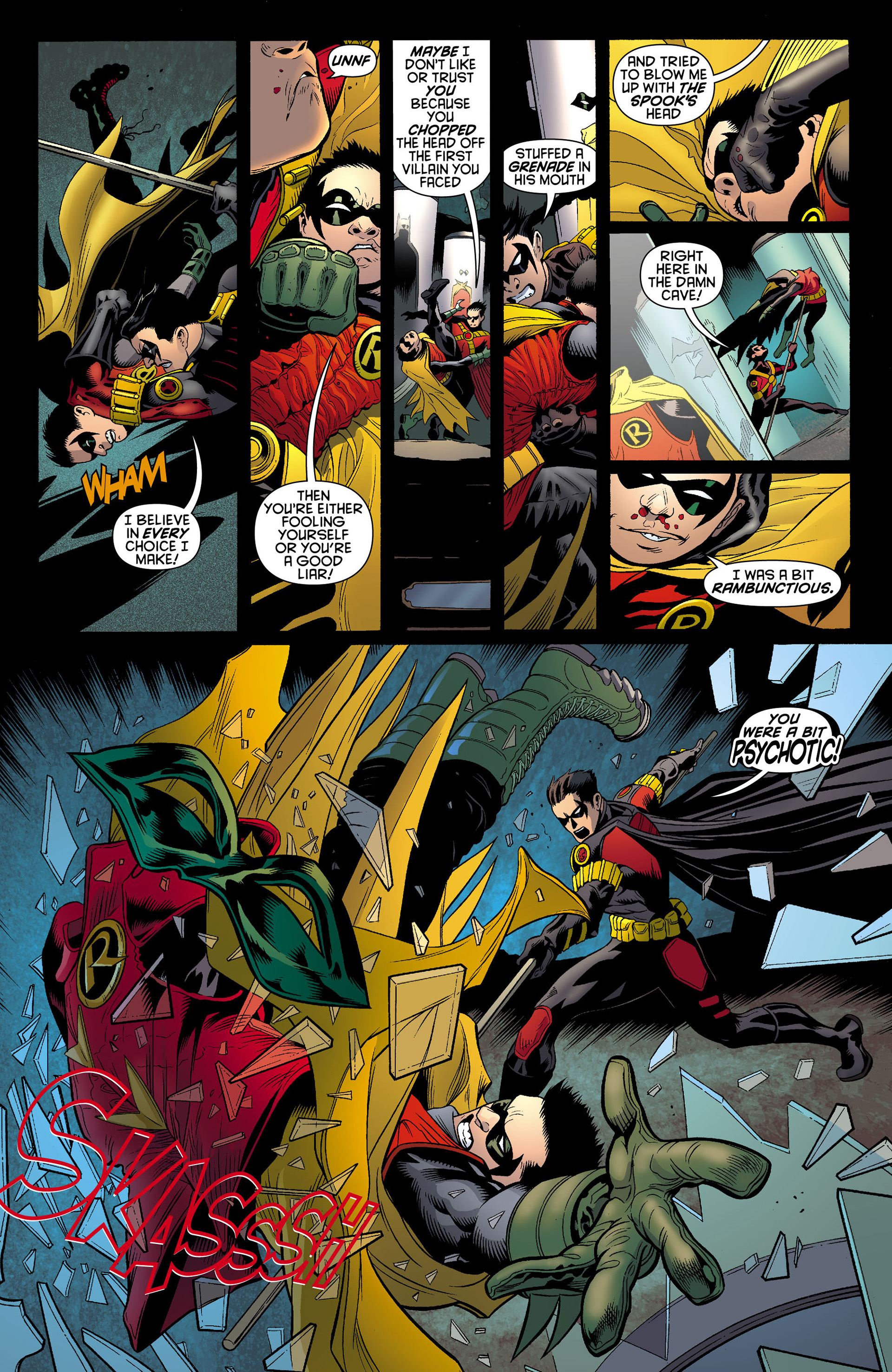 Read online Batman and Robin (2011) comic -  Issue #10 - 18