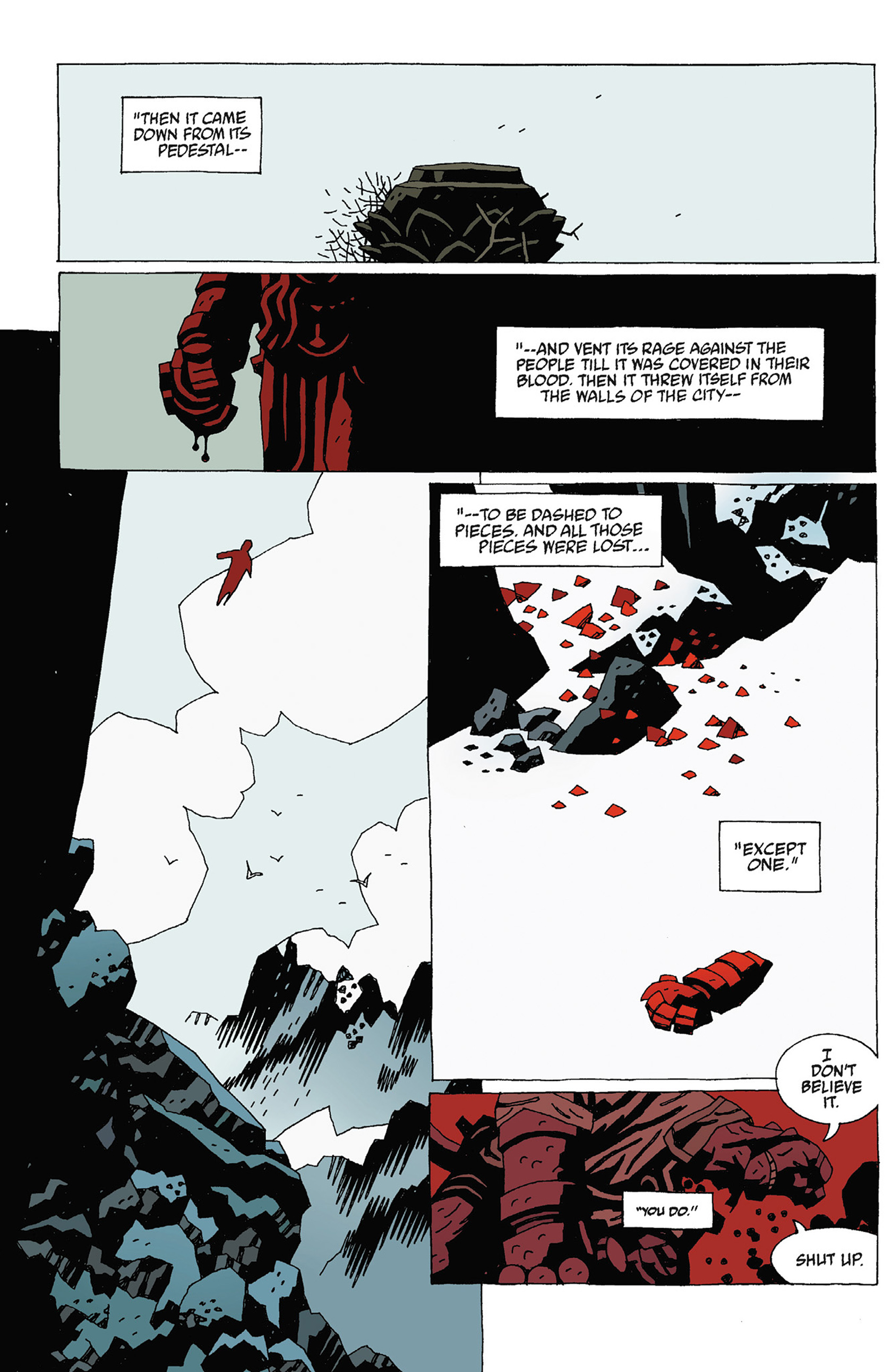 Read online Hellboy: Strange Places comic -  Issue # TPB - 111