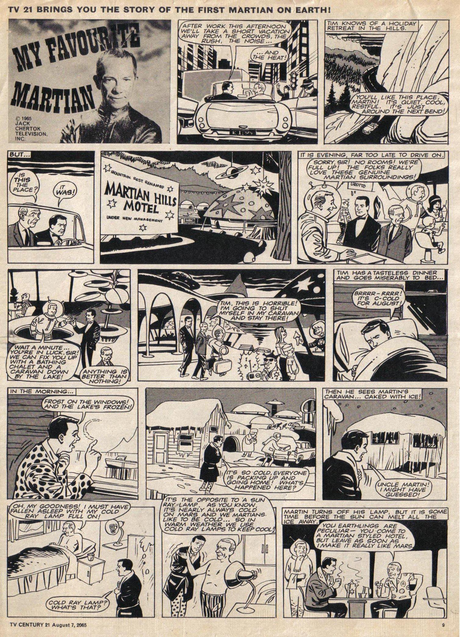 Read online TV Century 21 (TV 21) comic -  Issue #29 - 10