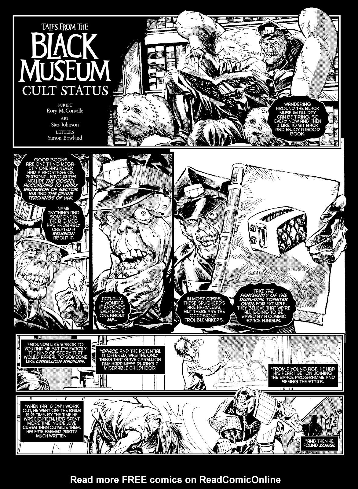 Judge Dredd Megazine (Vol. 5) Issue #381 #180 - English 25