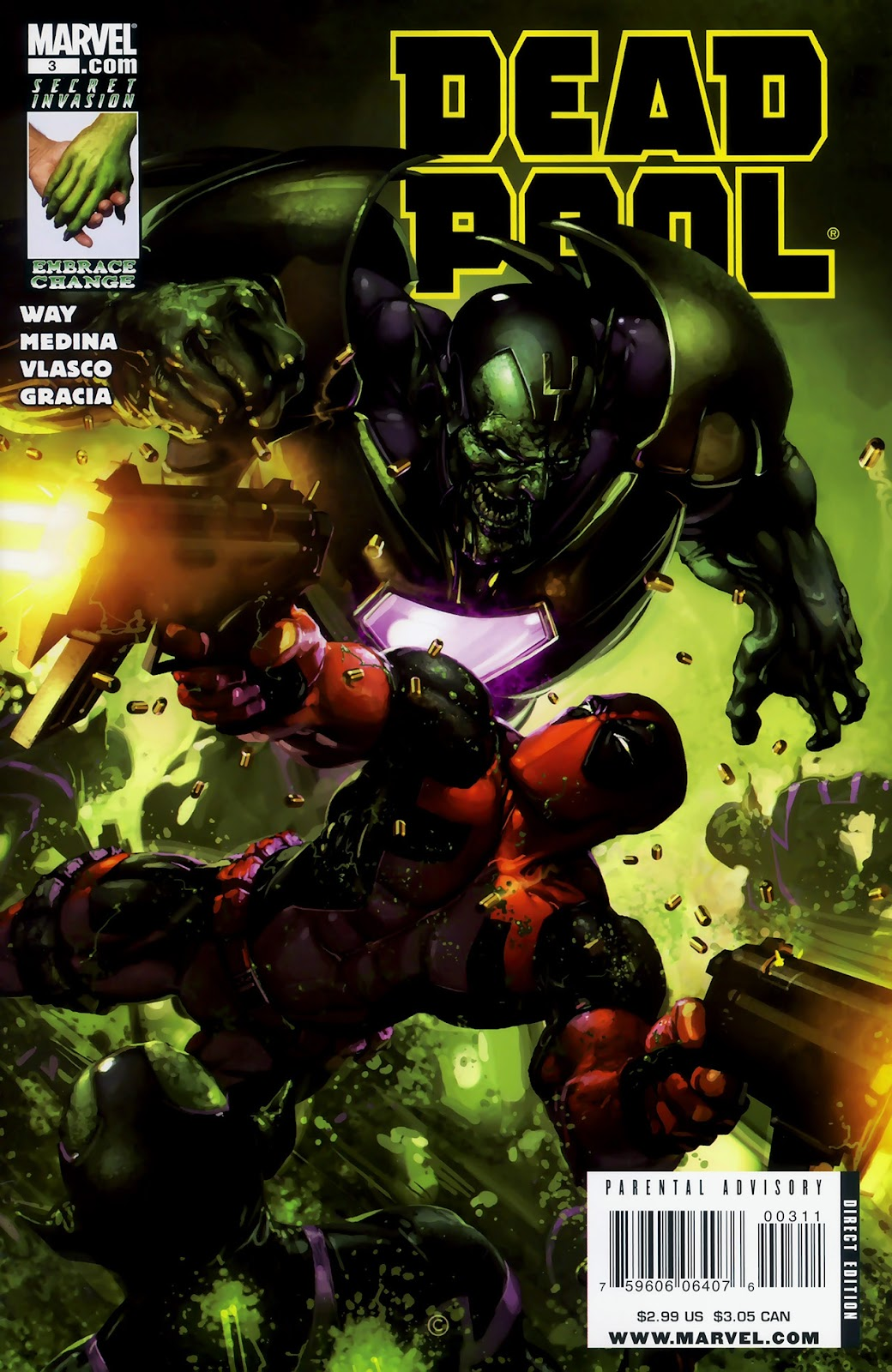 Read online Deadpool (2008) comic -  Issue #3 - 1
