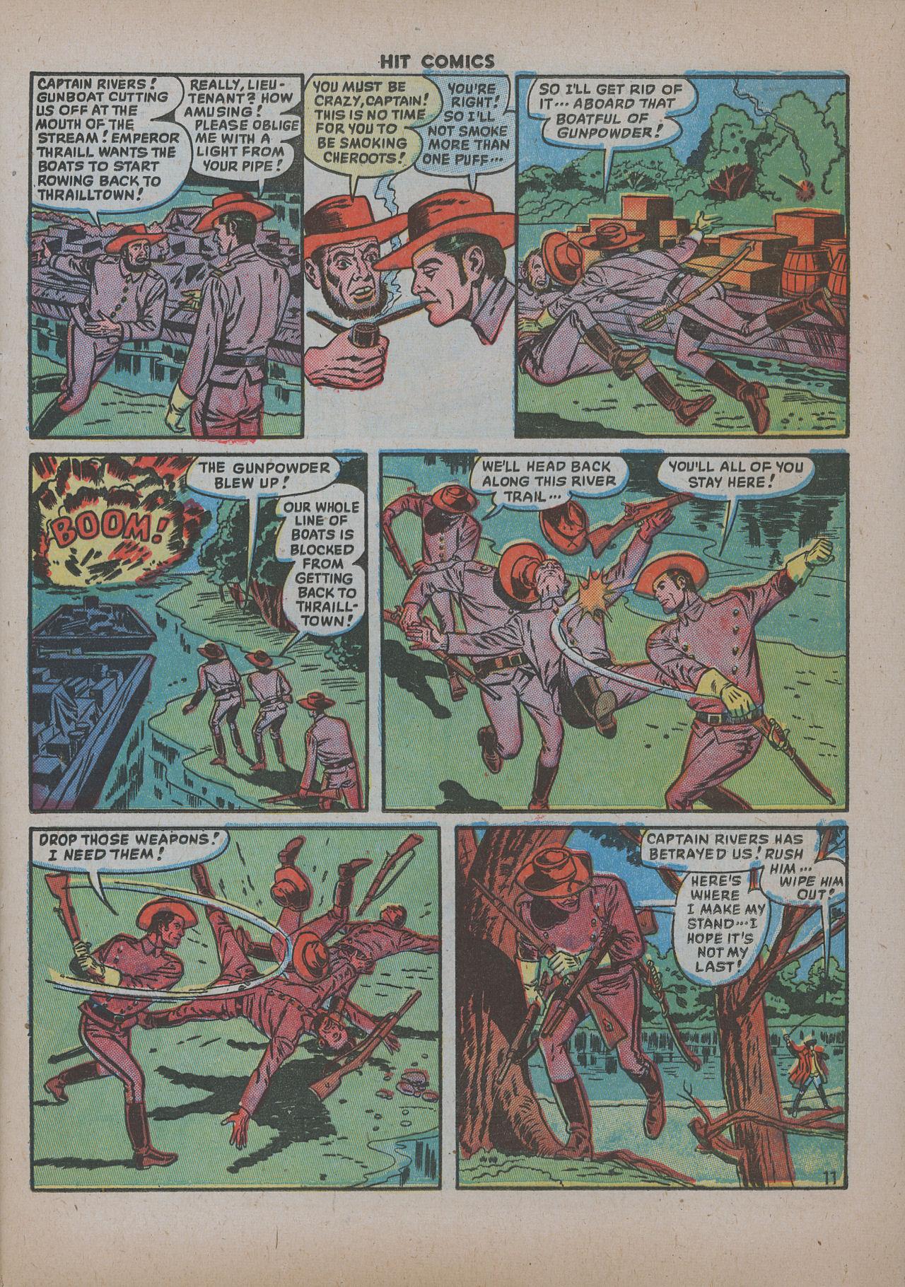 Read online Hit Comics comic -  Issue #62 - 14