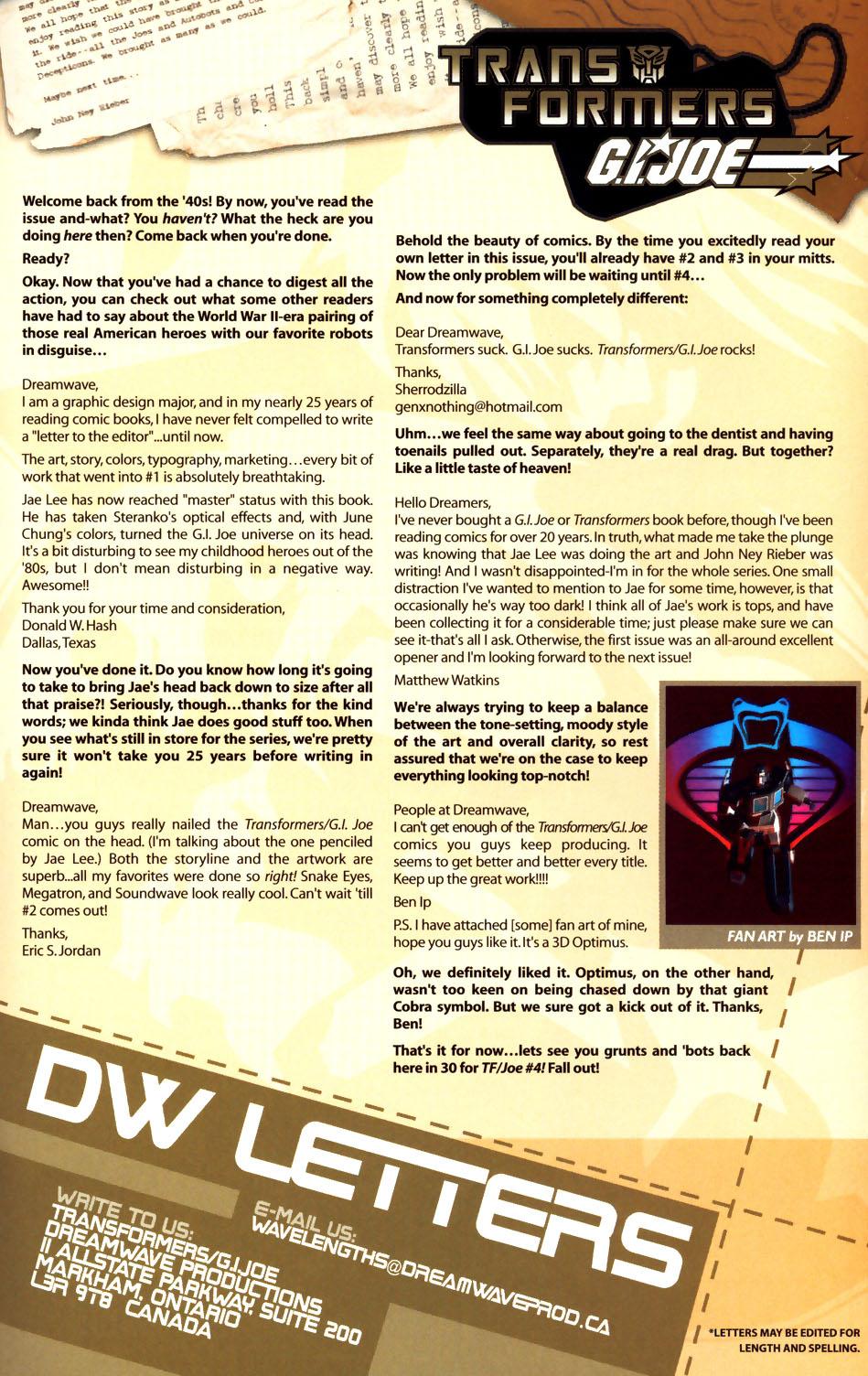 Read online Transformers/G.I. Joe comic -  Issue #3 - 22