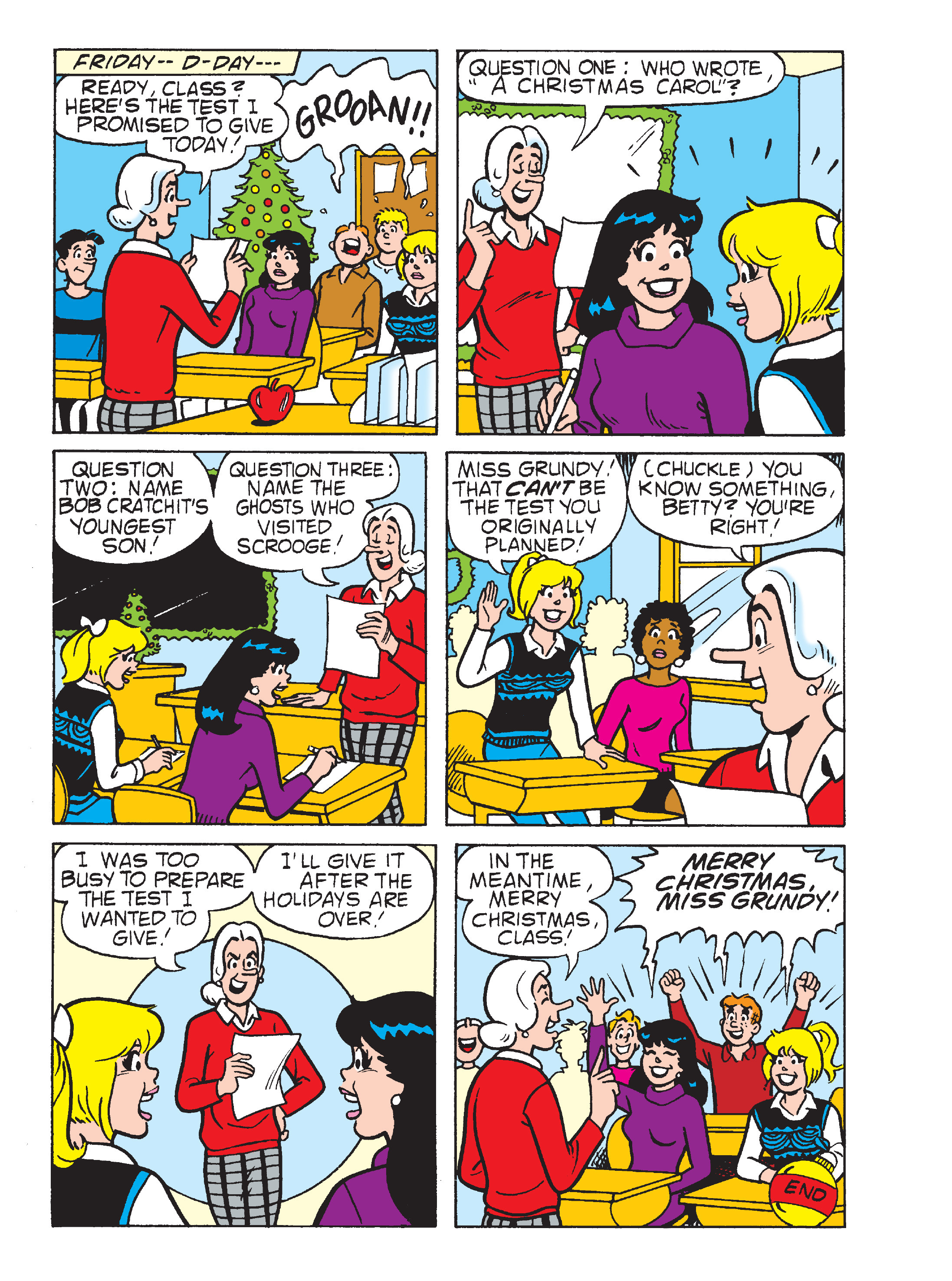 Read online Archie's Funhouse Double Digest comic -  Issue #23 - 33