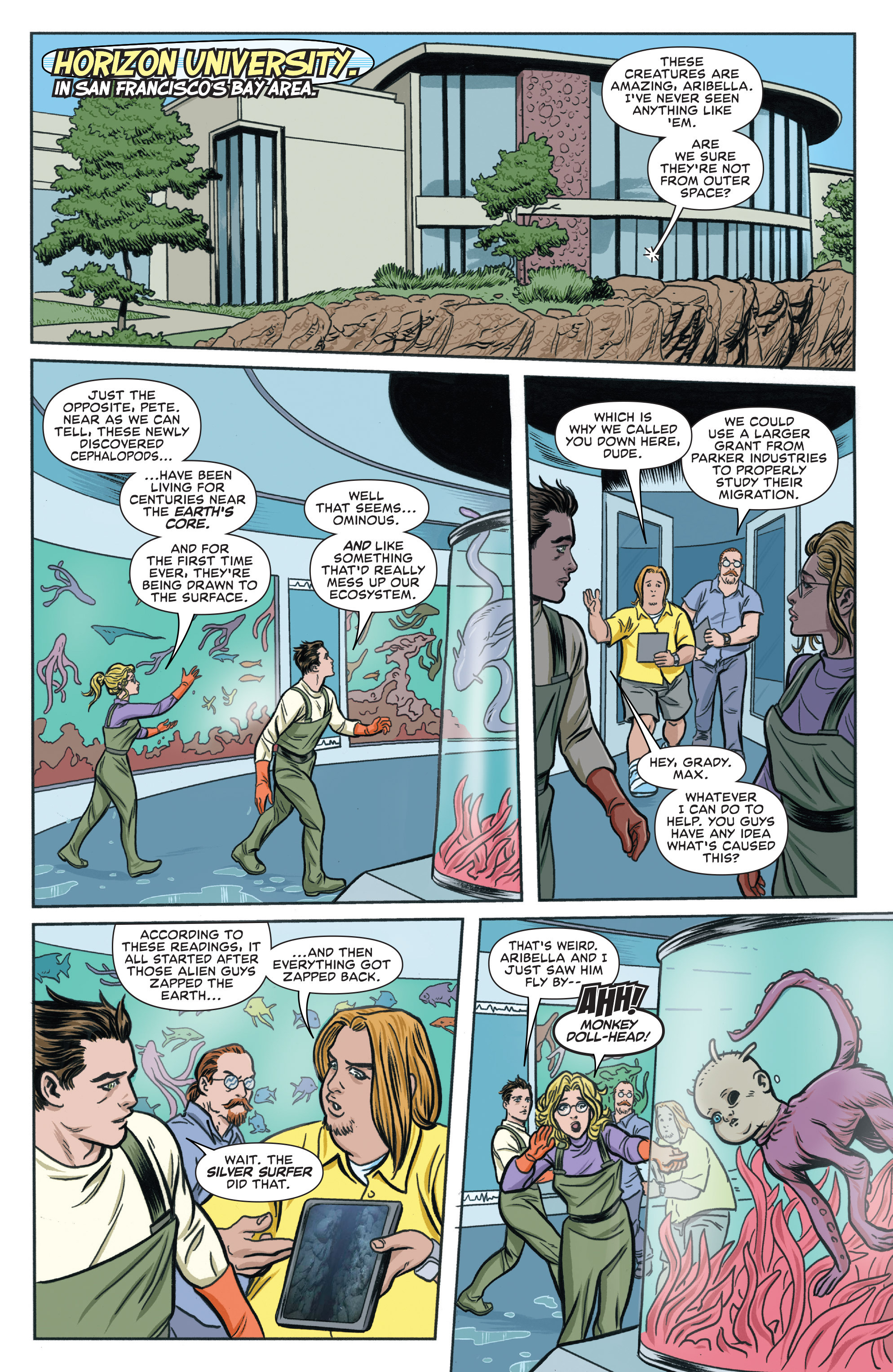 Read online Silver Surfer (2016) comic -  Issue #6 - 3