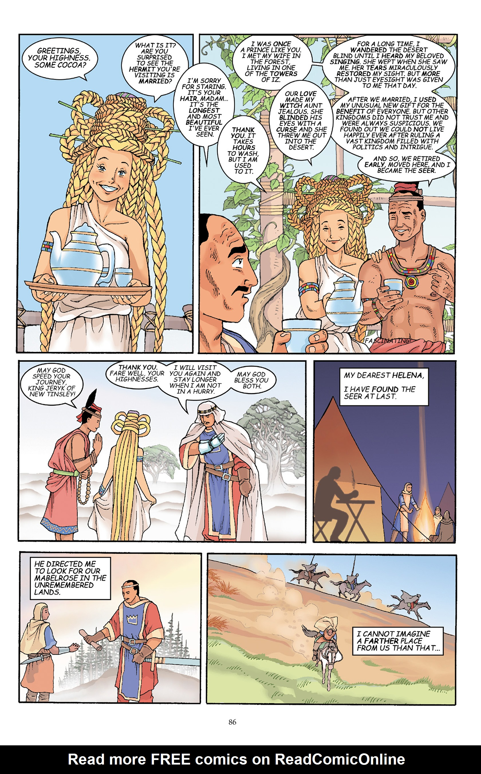 Read online Courageous Princess comic -  Issue # TPB 1 - 87