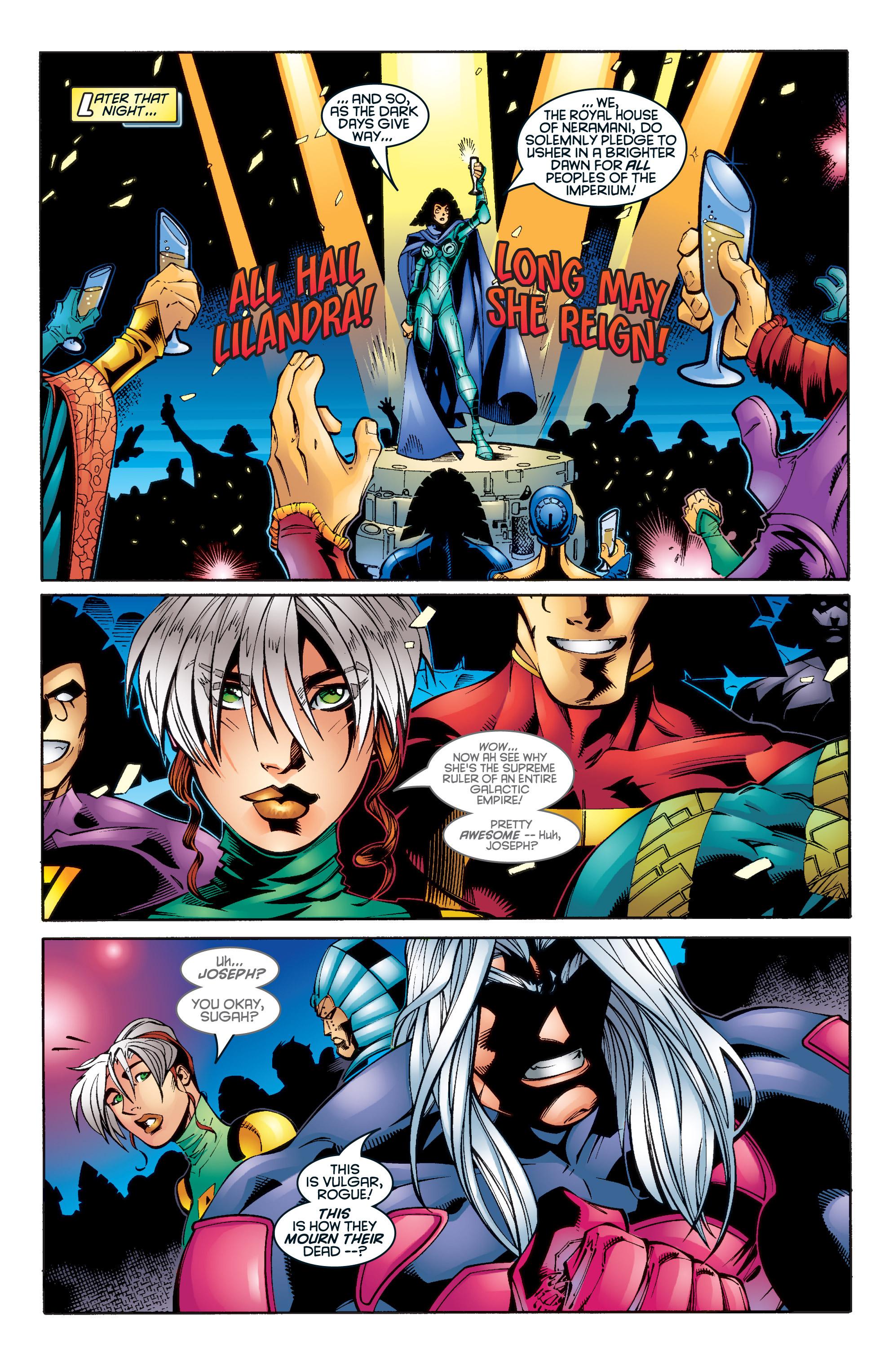 Read online Uncanny X-Men (1963) comic -  Issue #345 - 9