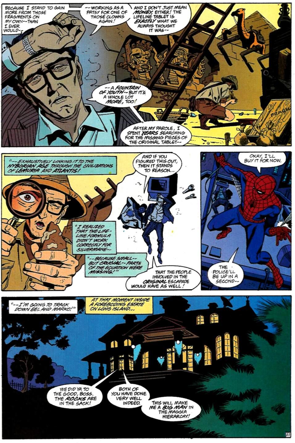 Read online Spider-Man: Lifeline comic -  Issue #1 - 12
