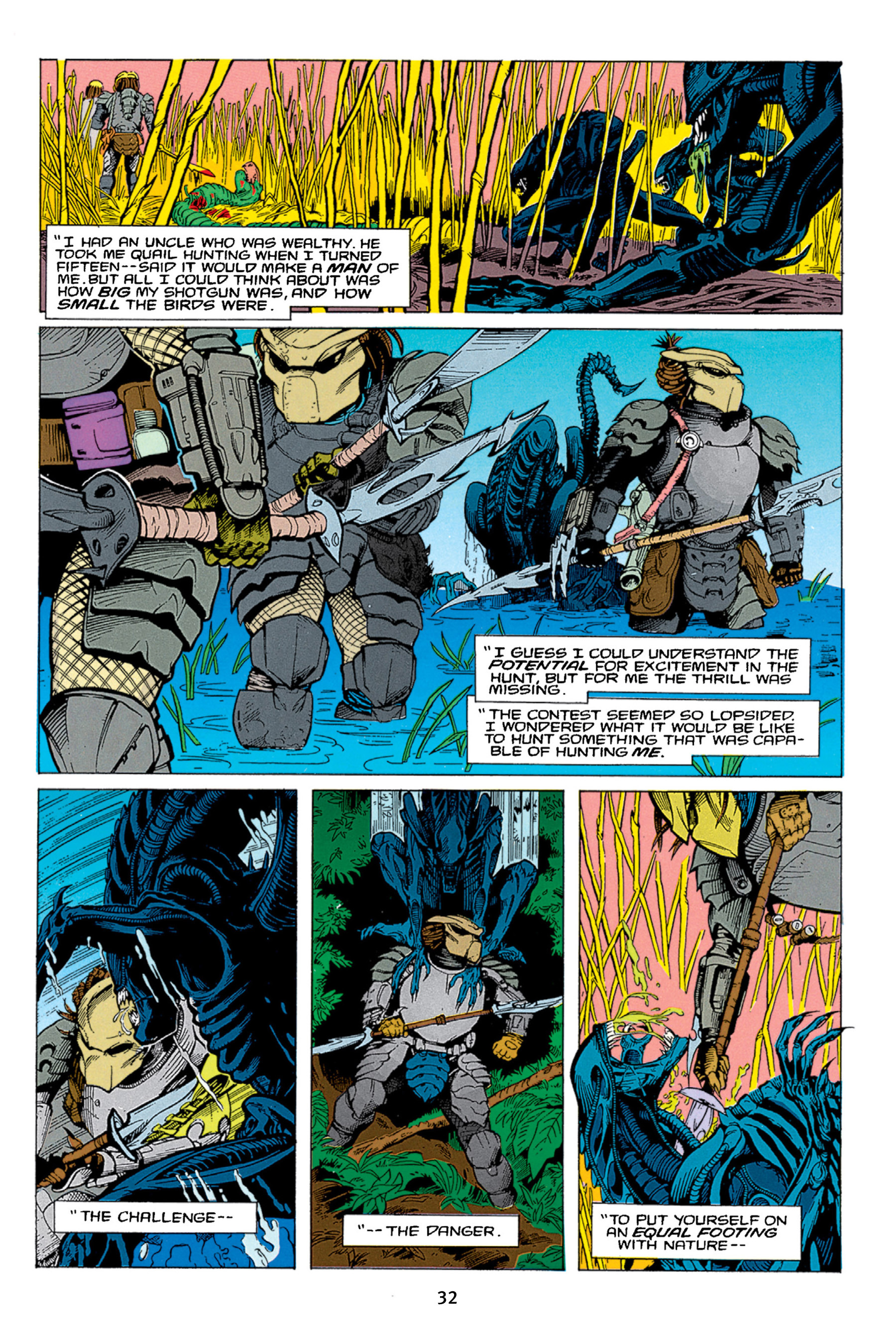 Read online Aliens vs. Predator Omnibus comic -  Issue # _TPB 1 Part 1 - 32