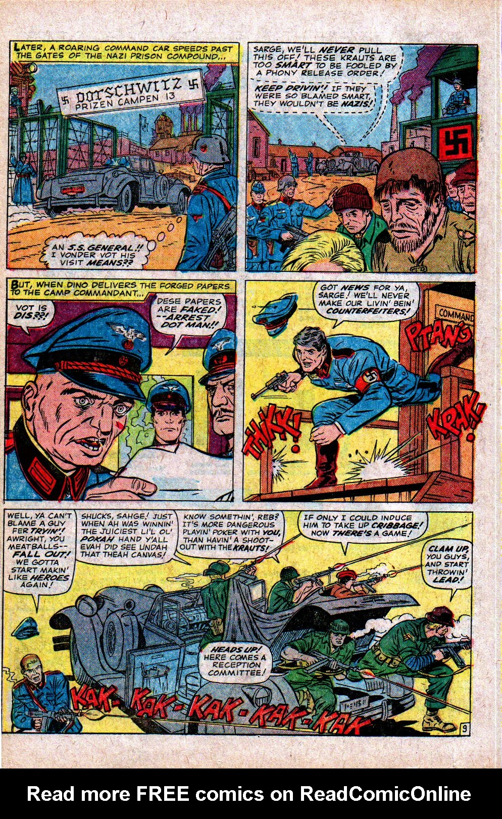 Read online Sgt. Fury comic -  Issue #21 - 14