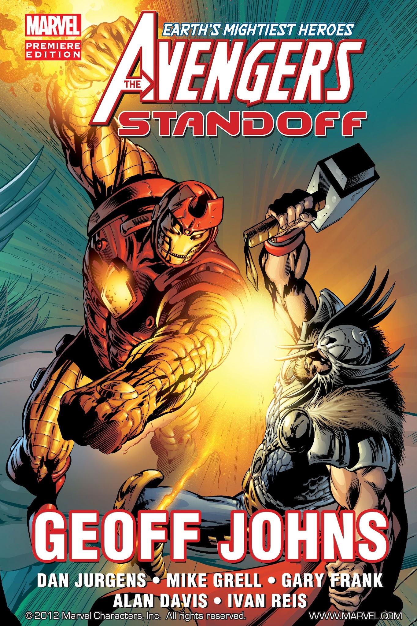 Avengers: Standoff (2010) TPB Page 1