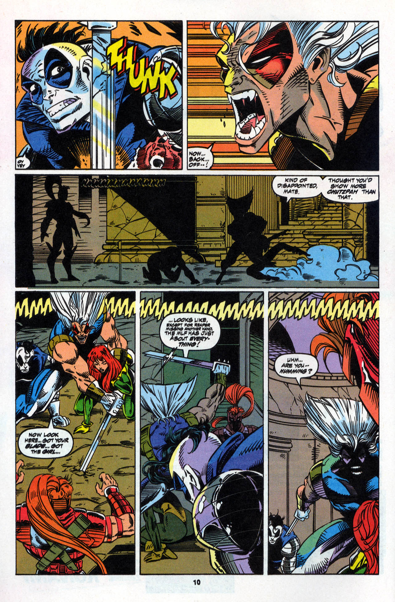 Read online X-Force (1991) comic -  Issue #28 - 11