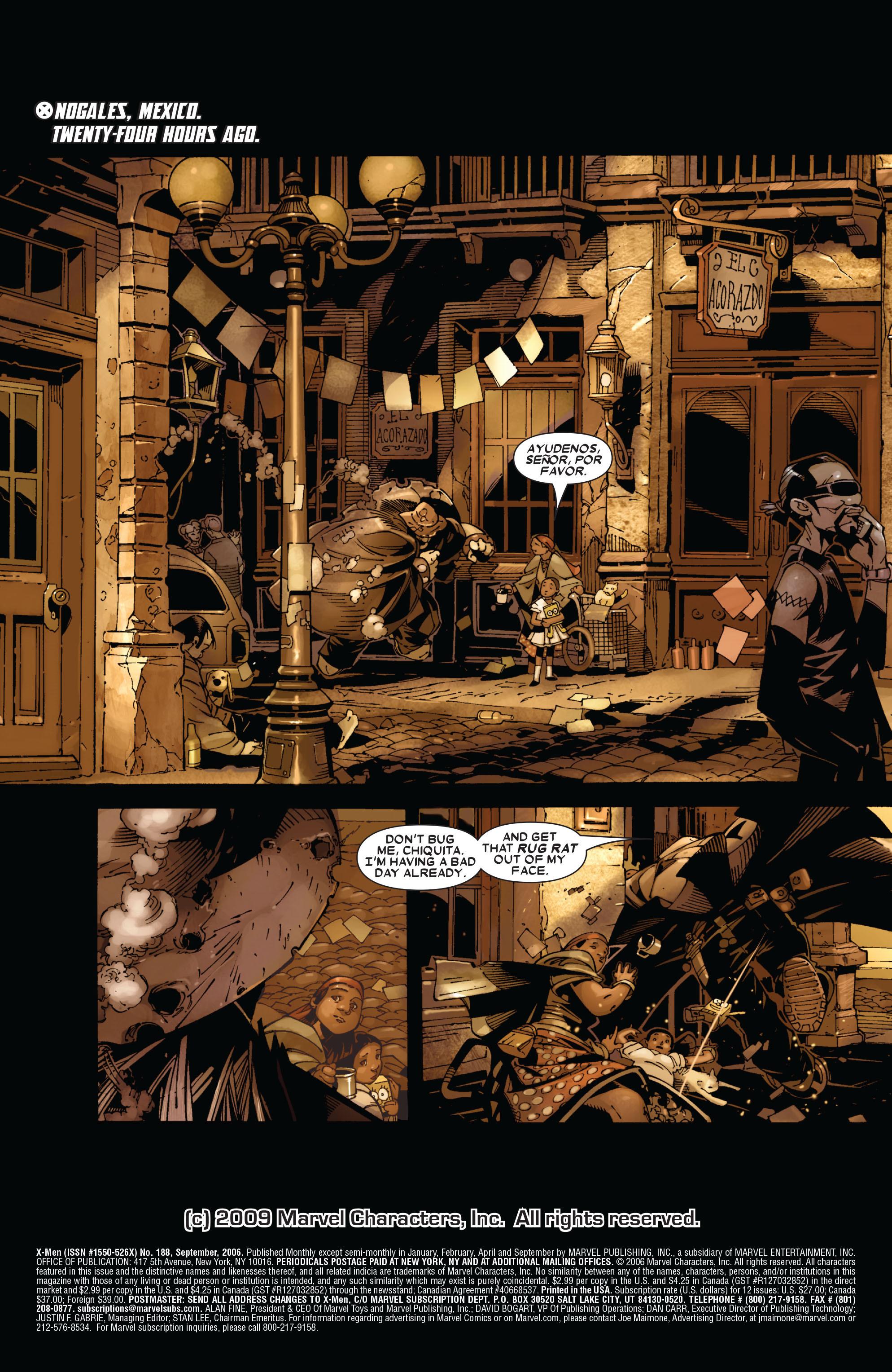 X-Men (1991) 188 Page 2