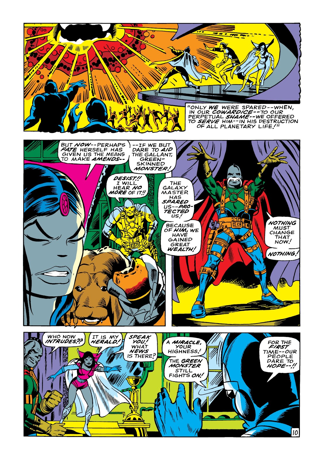 Read online Marvel Masterworks: The Incredible Hulk comic -  Issue # TPB 5 (Part 1) - 37
