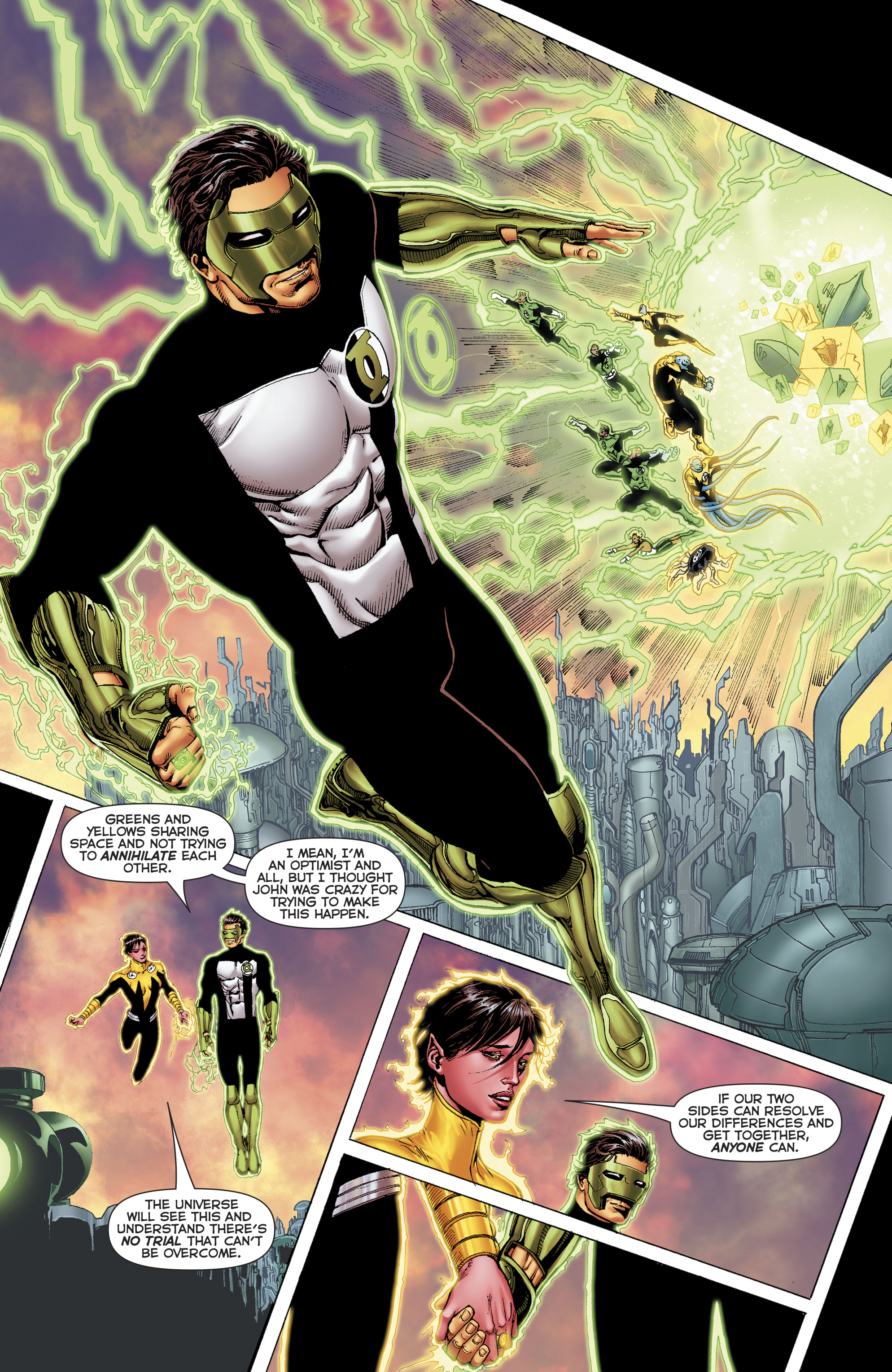 Read online Hal Jordan And The Green Lantern Corps comic -  Issue #22 - 19