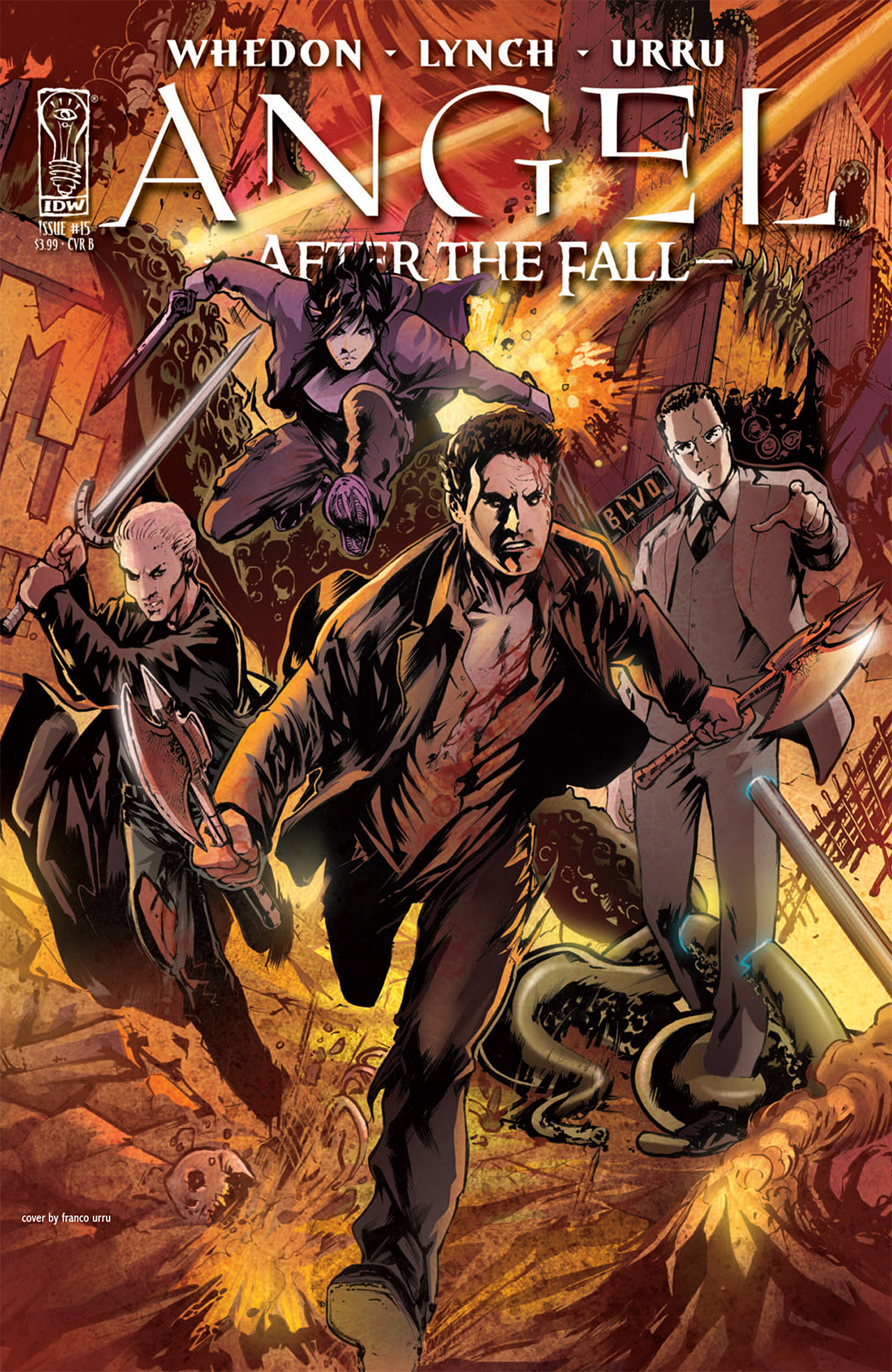 Read online Angel: After The Fall comic -  Issue #15 - 2