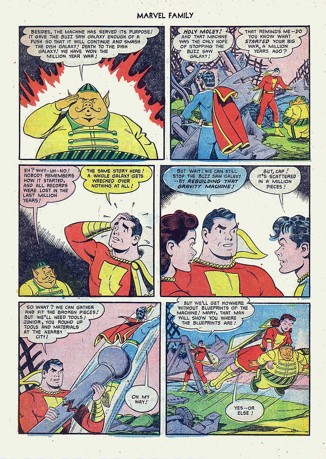 The Marvel Family issue 61 - Page 11
