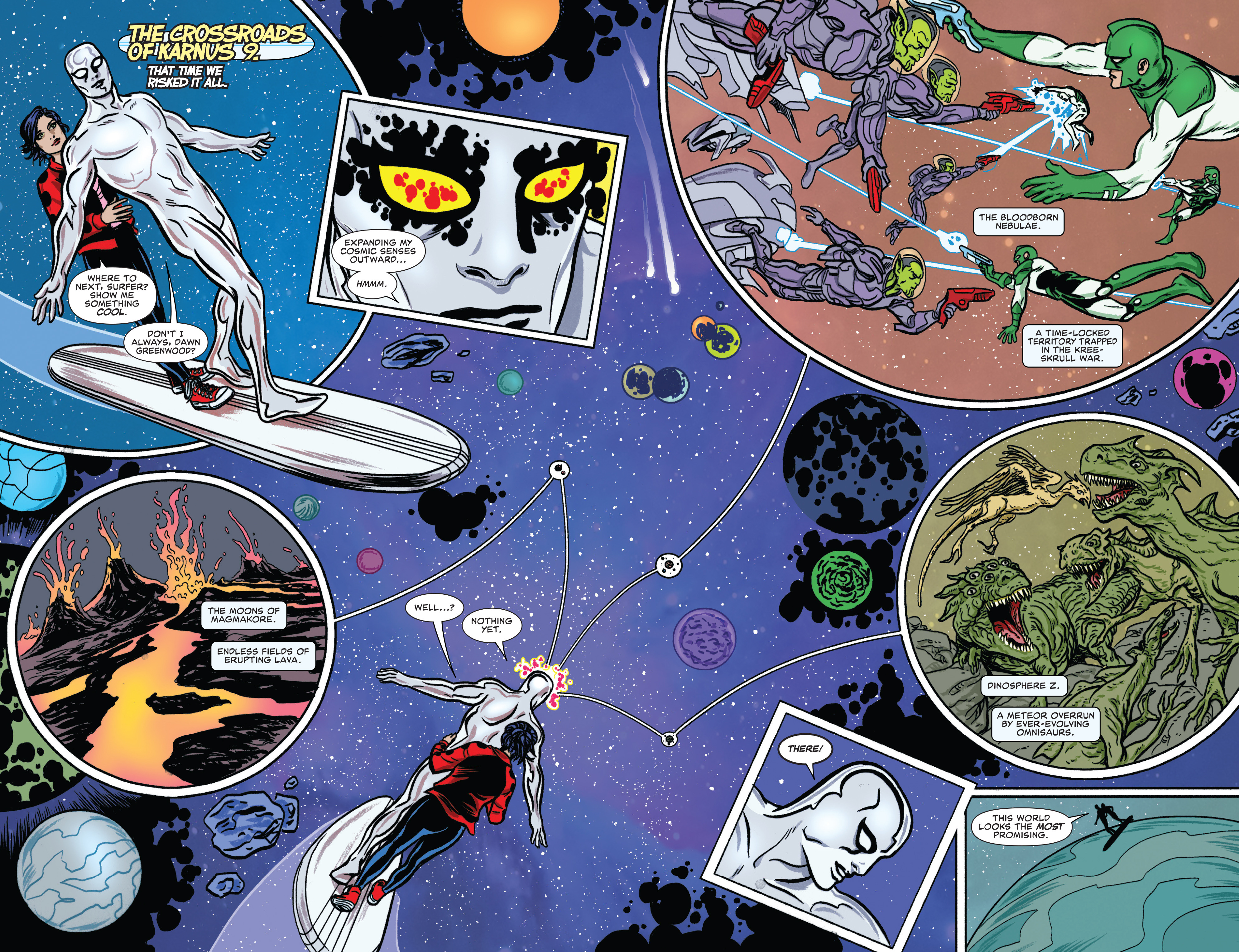 Read online Silver Surfer (2016) comic -  Issue #7 - 3